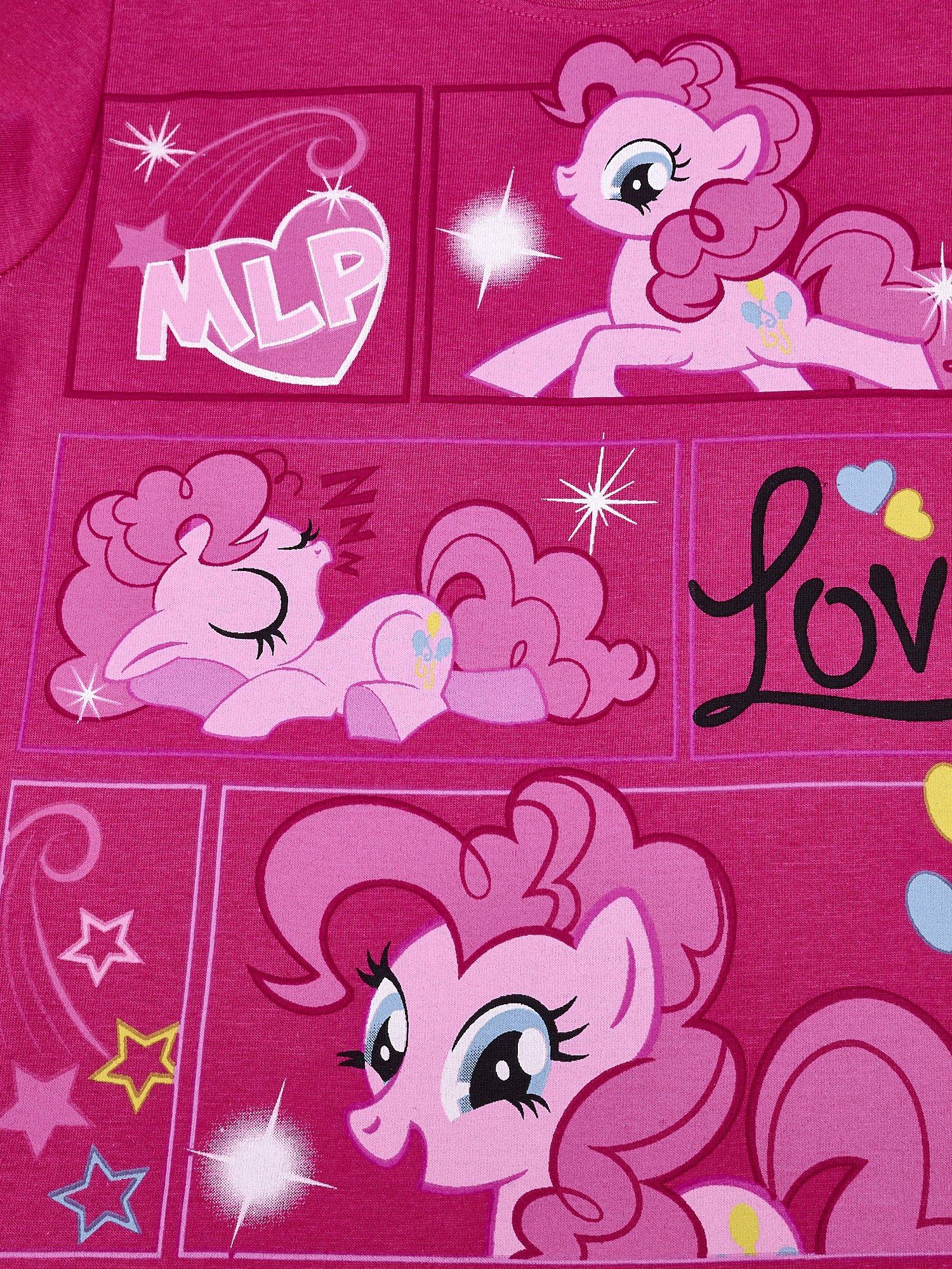 Ciemnoróżowy t-shirt dla dziewczynki MY LITTLE PONY                                  zdj.                                  4