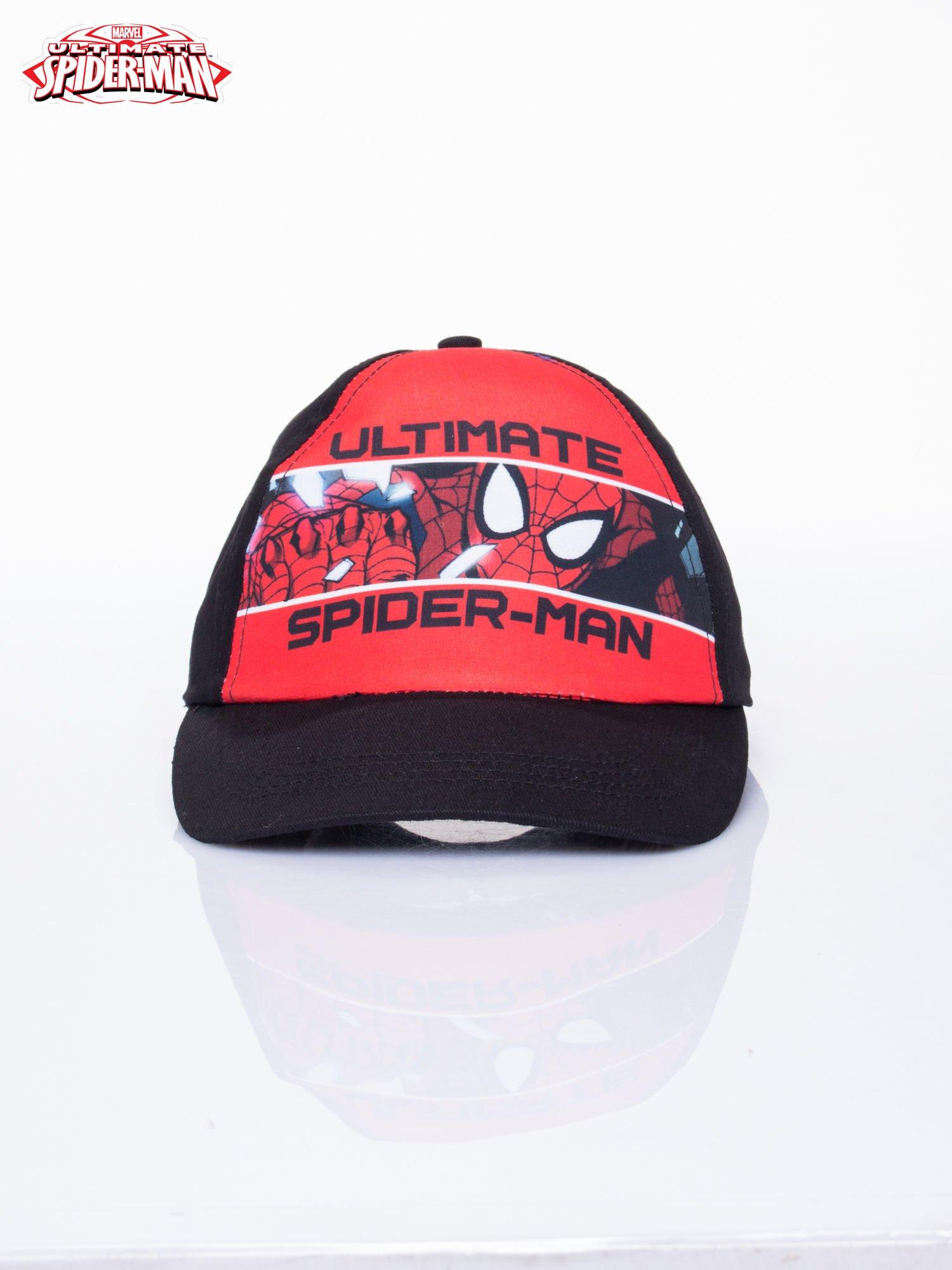 Czarna chłopięca czapka z daszkiem SPIDERMAN                                  zdj.                                  1