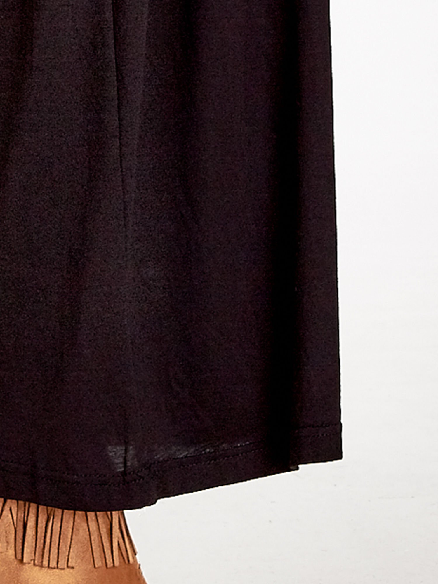 Czarna plisowana spódnica maxi                                  zdj.                                  8