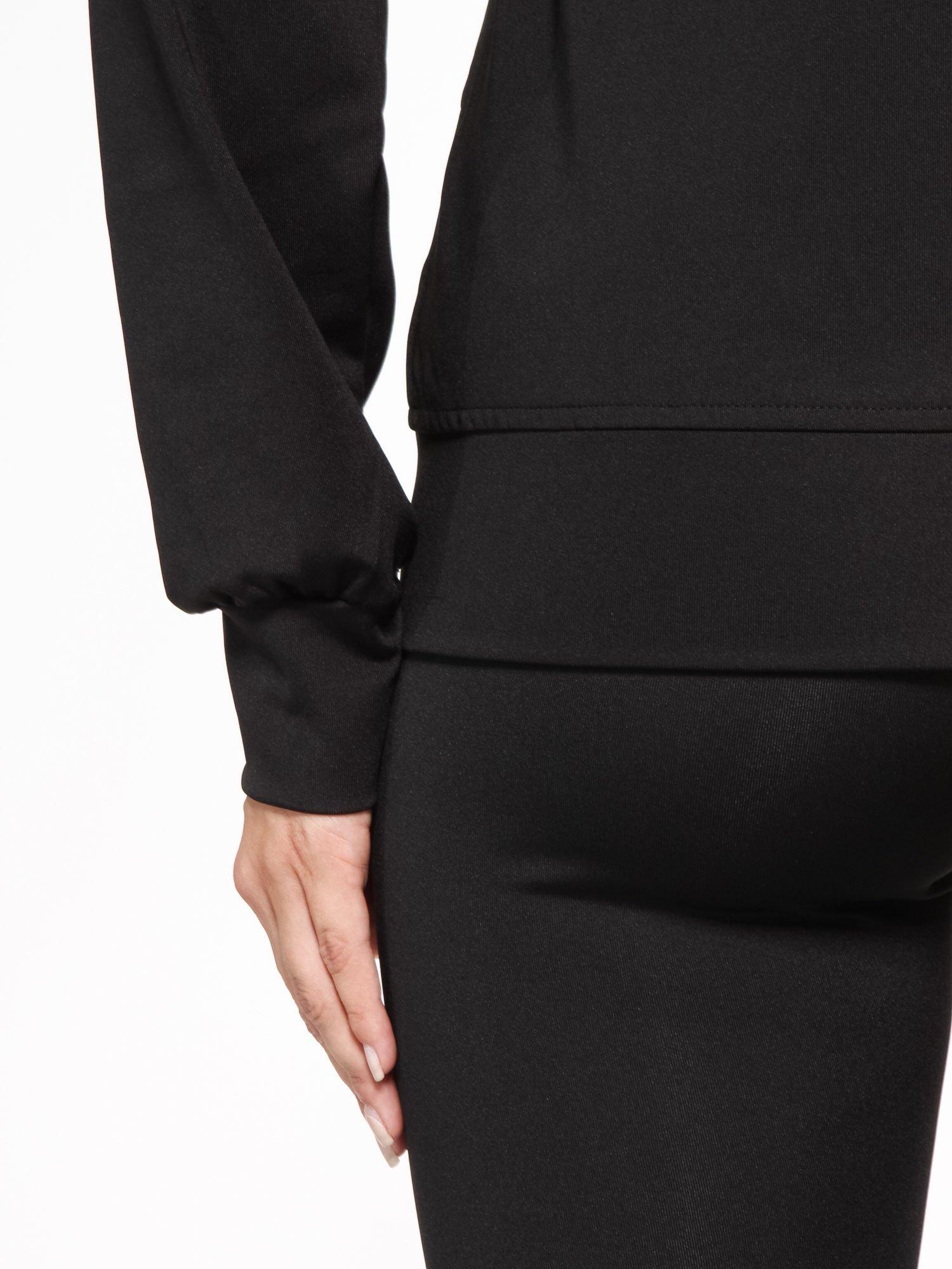 Czarna termoaktywna bluza do biegania z kapturem i fluozielonymi wstawkami ♦ Performance RUN                                  zdj.                                  13