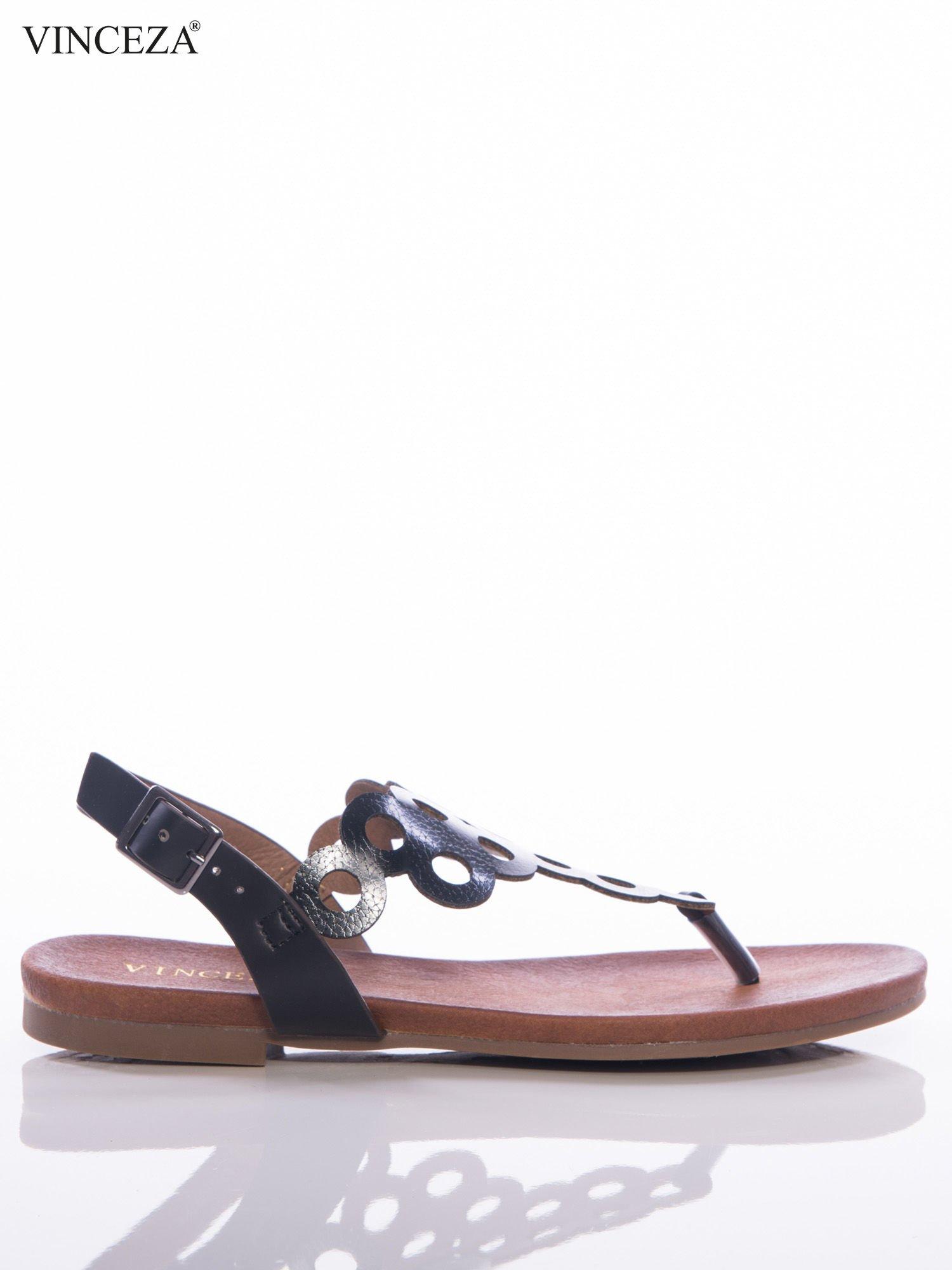 czarne sandały damskie z kółkami