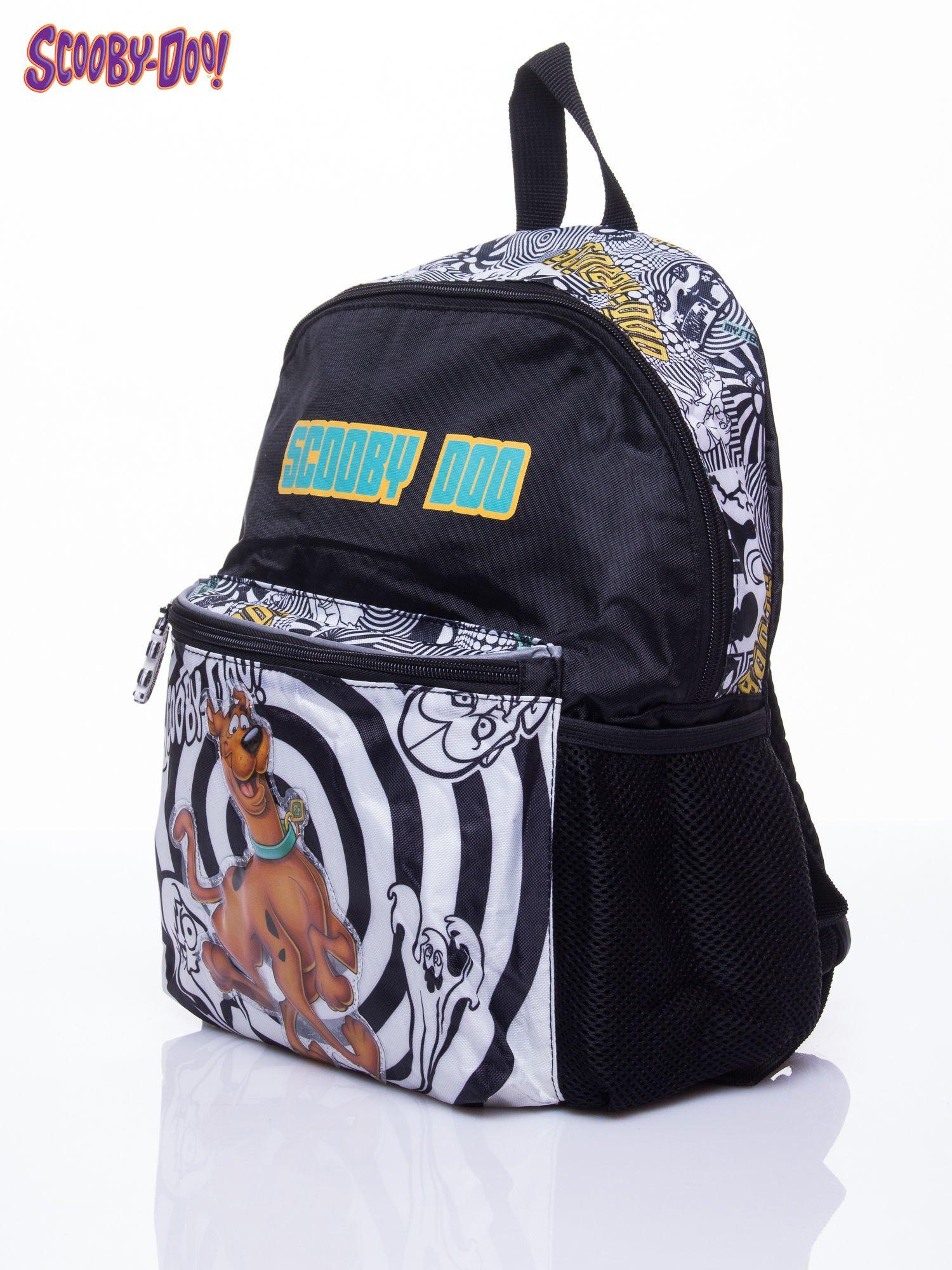 Czarny plecak szkolny DISNEY Scooby Doo                                  zdj.                                  2