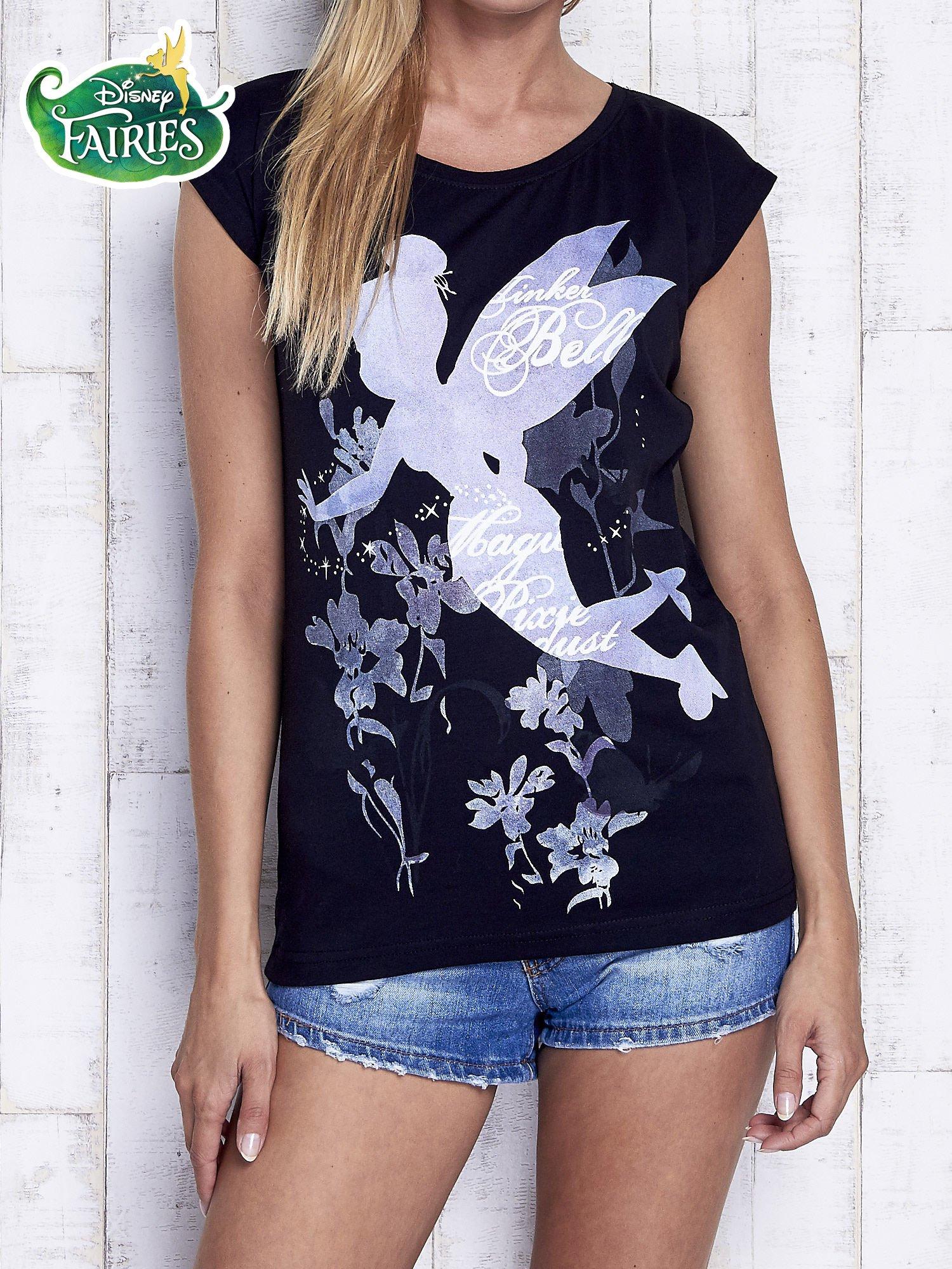 Czarny t-shirt TINKER BELL                                   zdj.                                  1