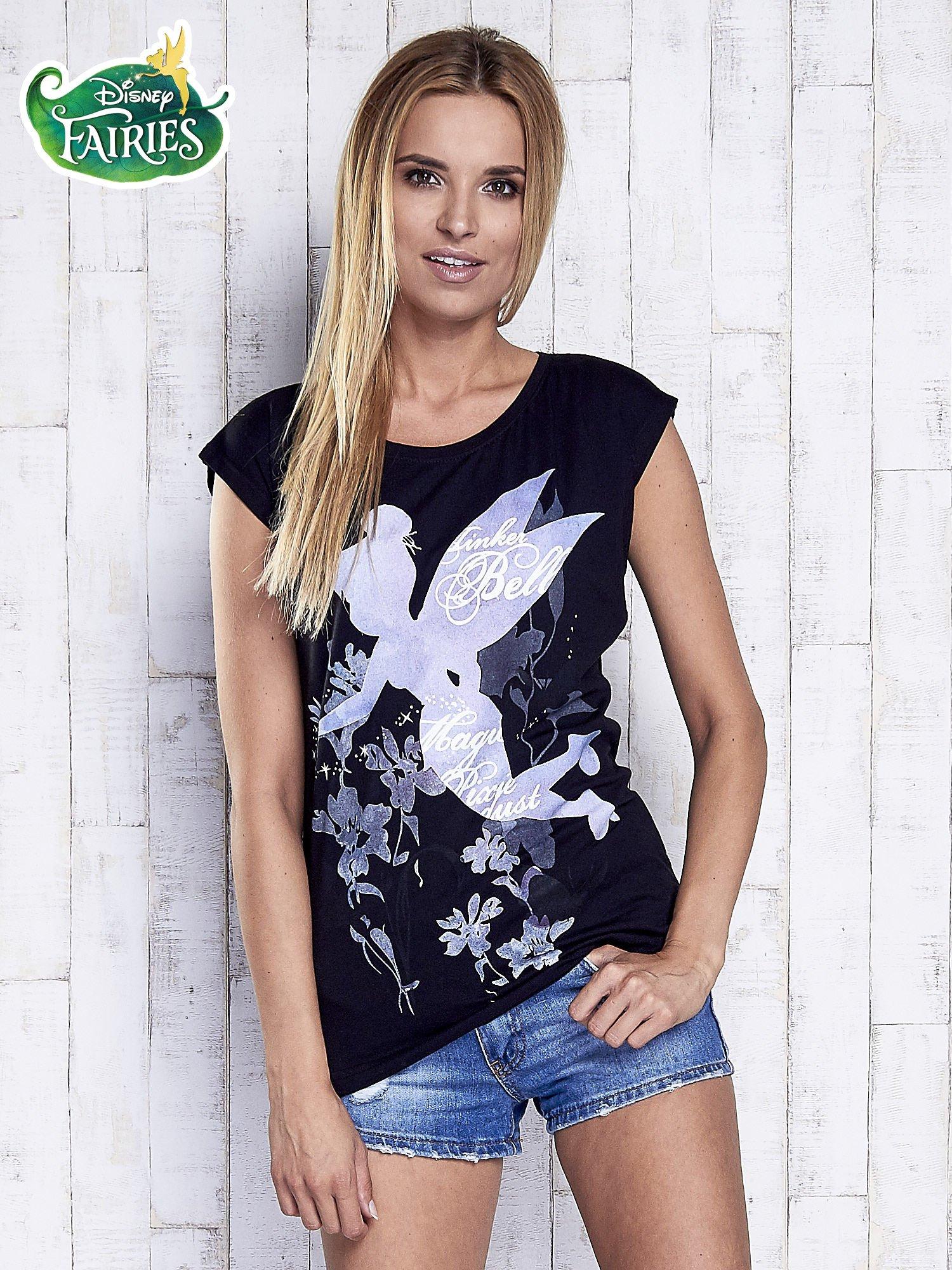 Czarny t-shirt TINKER BELL                                   zdj.                                  3