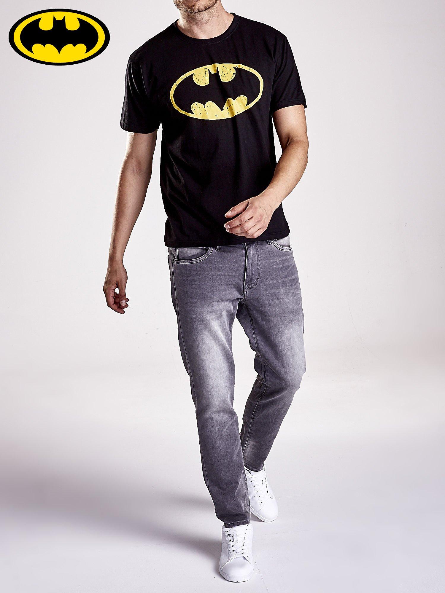 Czarny t-shirt męski BATMAN                                  zdj.                                  9