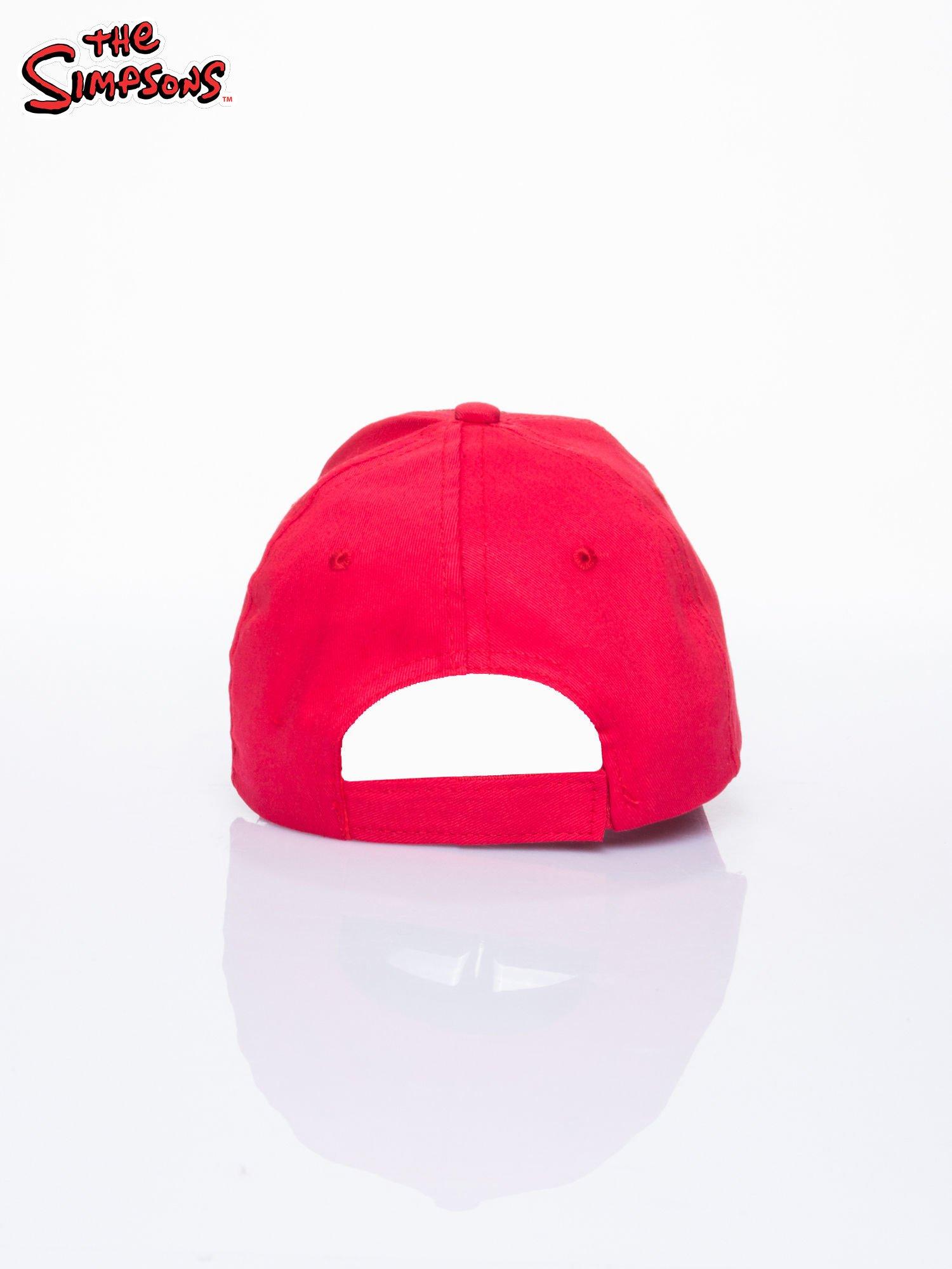 Czerwona chłopięca czapka z daszkiem SIMPSONOWIE                                  zdj.                                  3