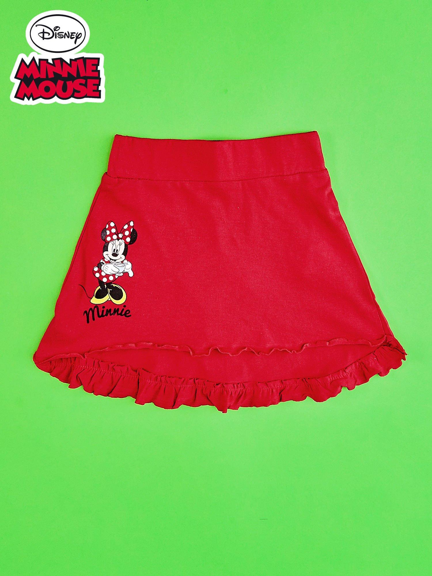 Czerwona spódnica dla dziewczynki MINNIE MOUSE                                  zdj.                                  1