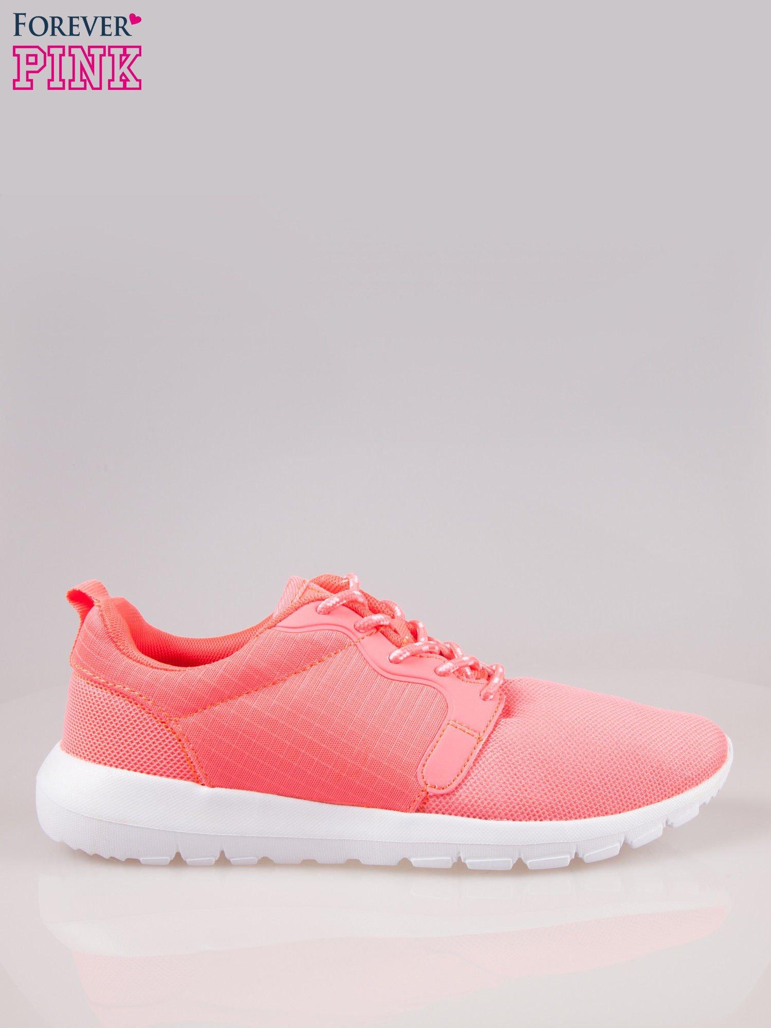 Czerwone buty sportowe eco leather On Fire                                  zdj.                                  1