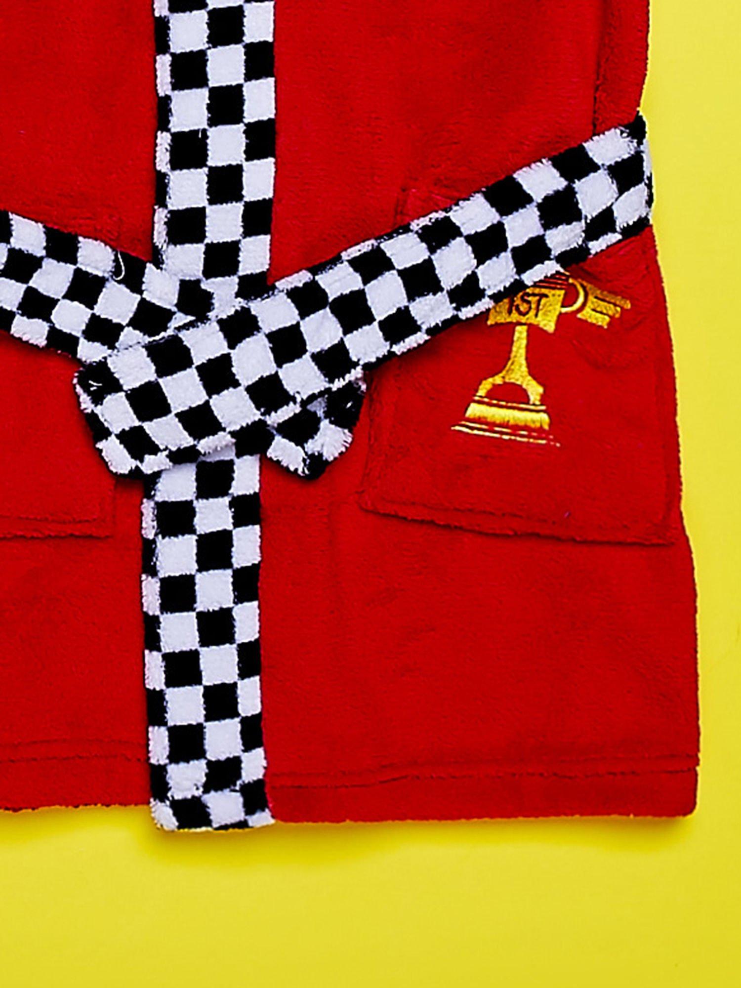 Czerwony chłopięcy szlafrok CARS                                  zdj.                                  5