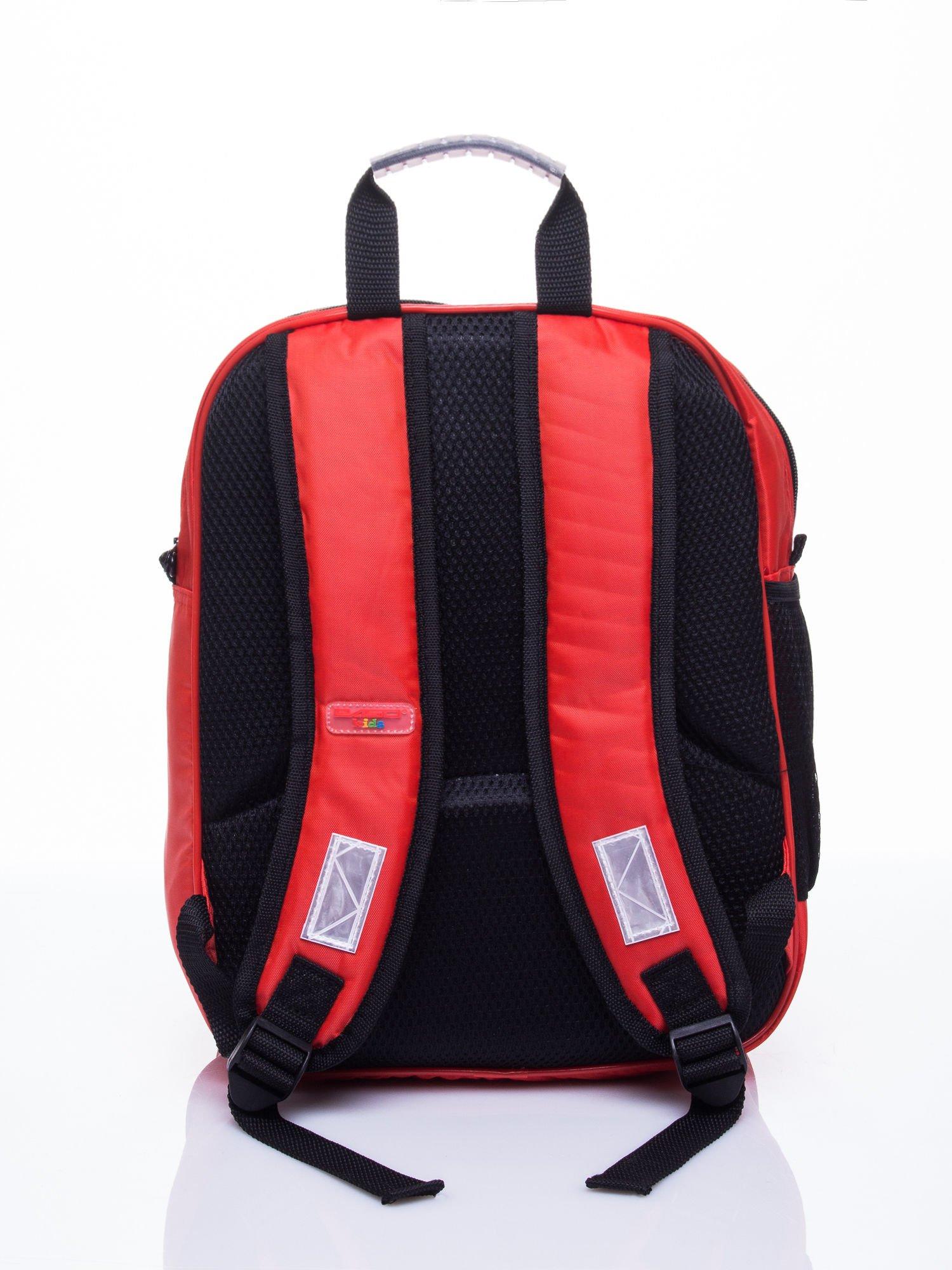 Czerwony plecak szkolny PIXAR Auta                                  zdj.                                  4