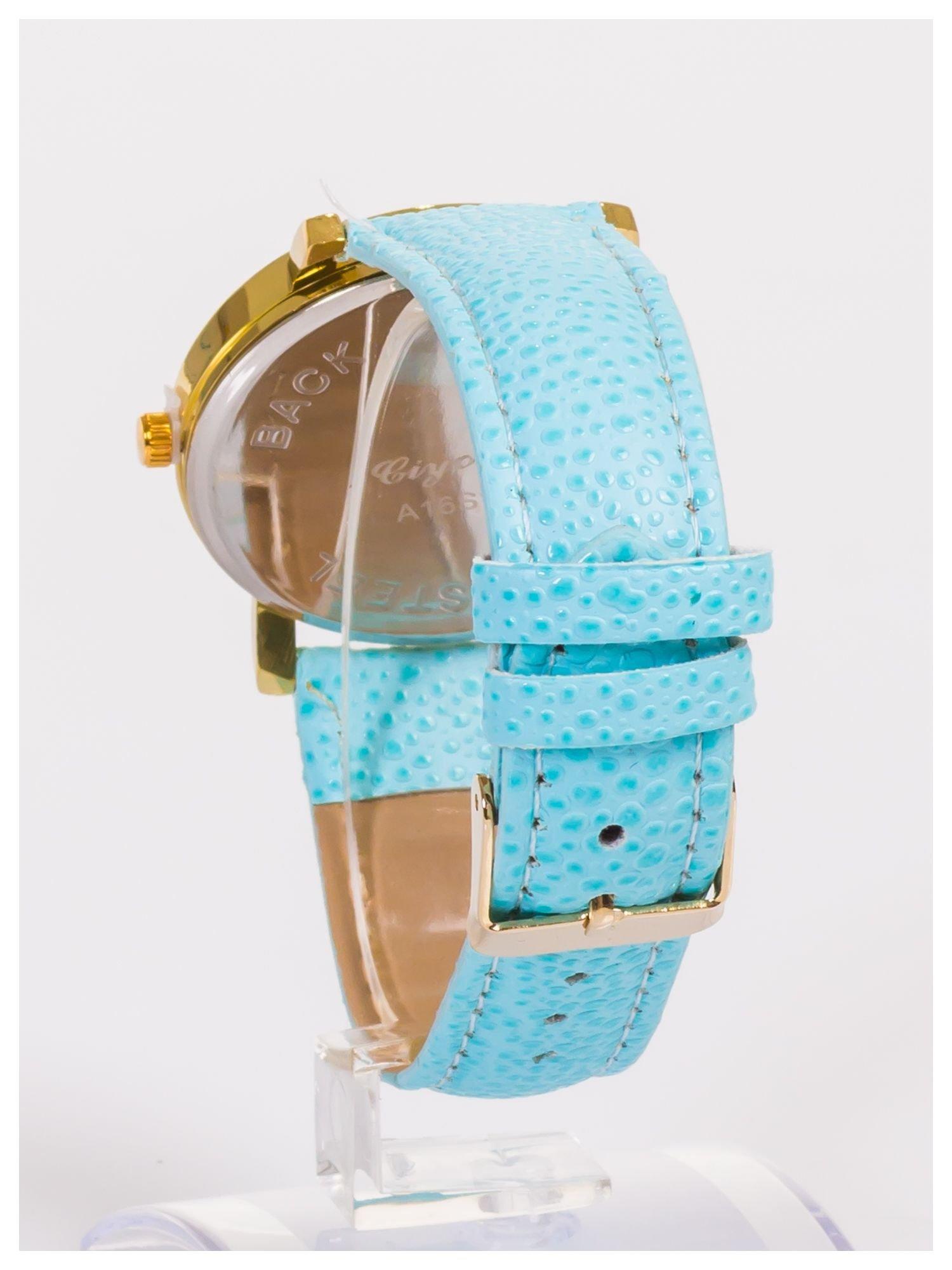 Damski zegarek z dużą i wyraźną perłową tarczą                                  zdj.                                  4