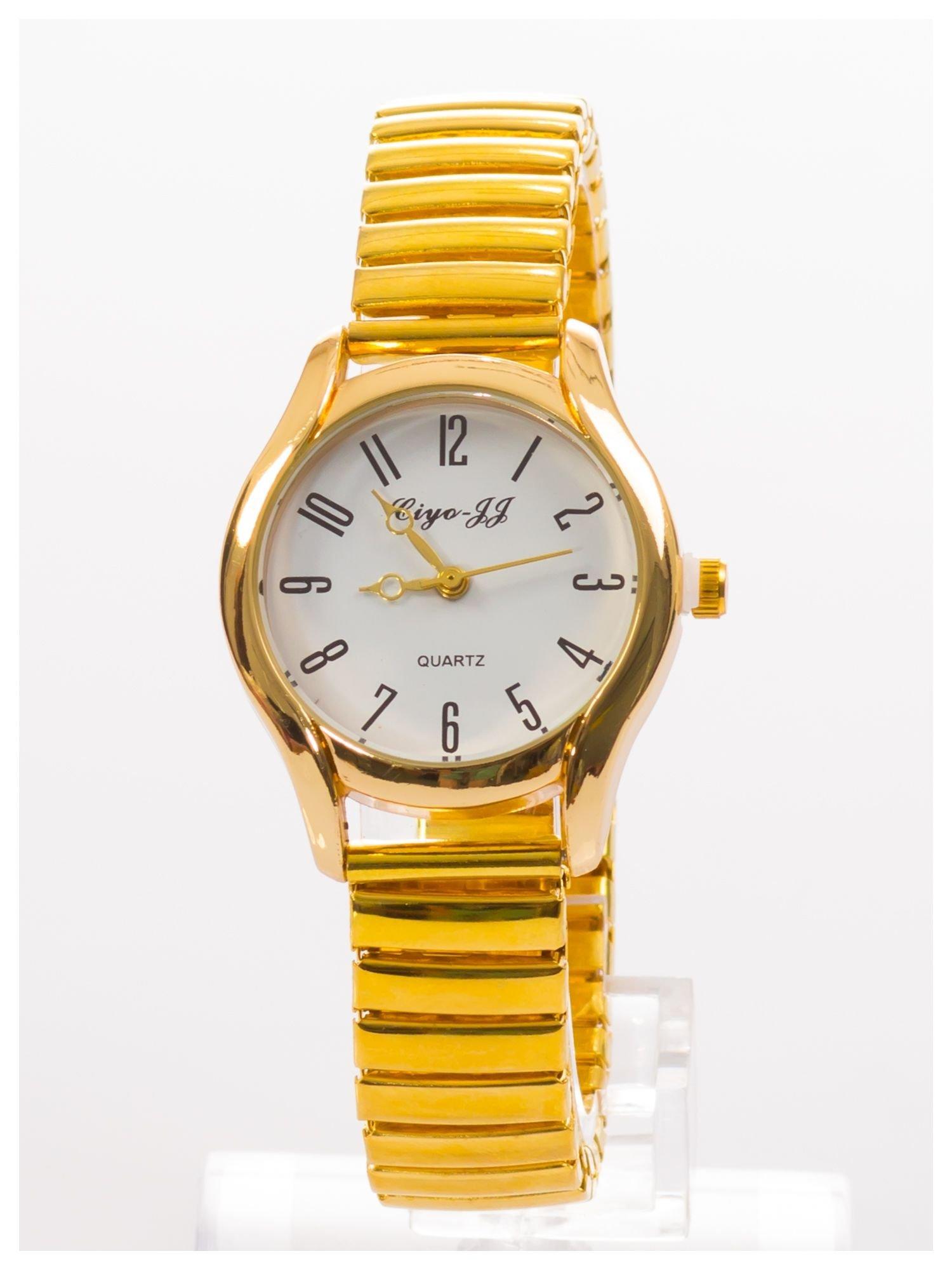 Delikatny damski zegarek na elastycznej bransolecie                                  zdj.                                  1