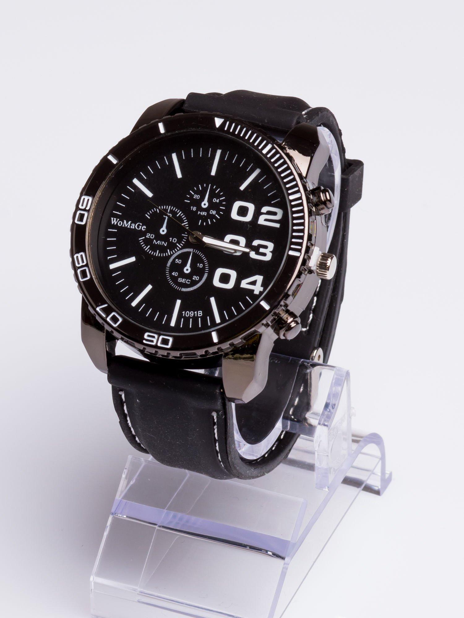 Dla Niego... Świetny sportowy zegarek inspirowany wyścigami GT - duży                                  zdj.                                  2