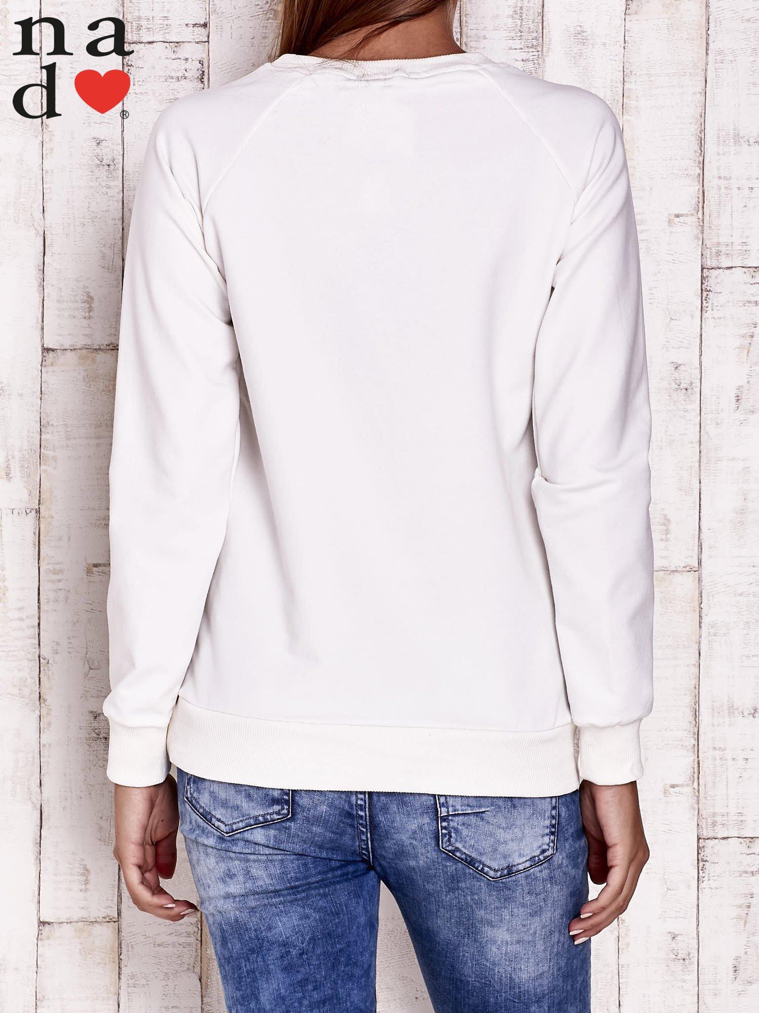 Ecru bluza z piórkiem                                  zdj.                                  2