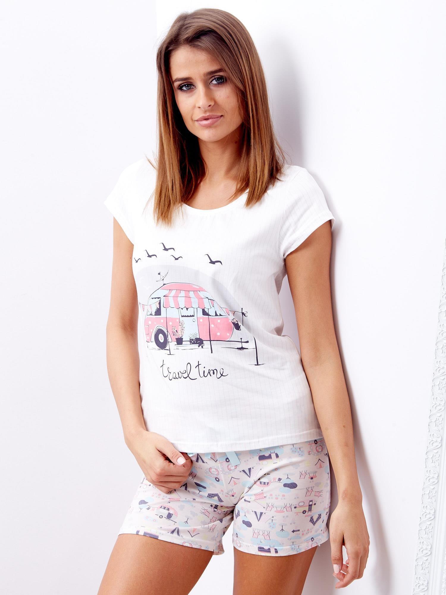 8db9078eeac3a7 Ecru piżama damska - Bielizna piżama - sklep eButik.pl