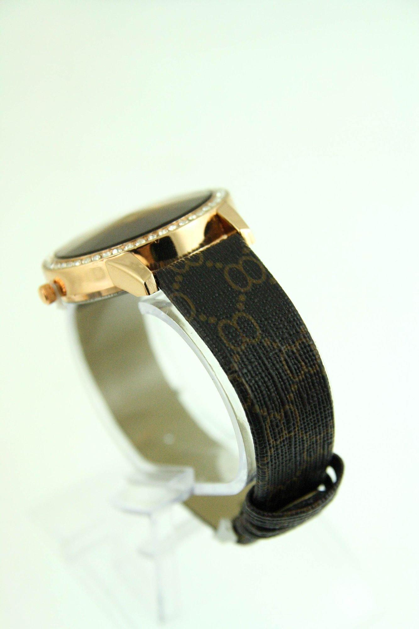 Elegancki damski zegarek z cyrkoniami                                  zdj.                                  4