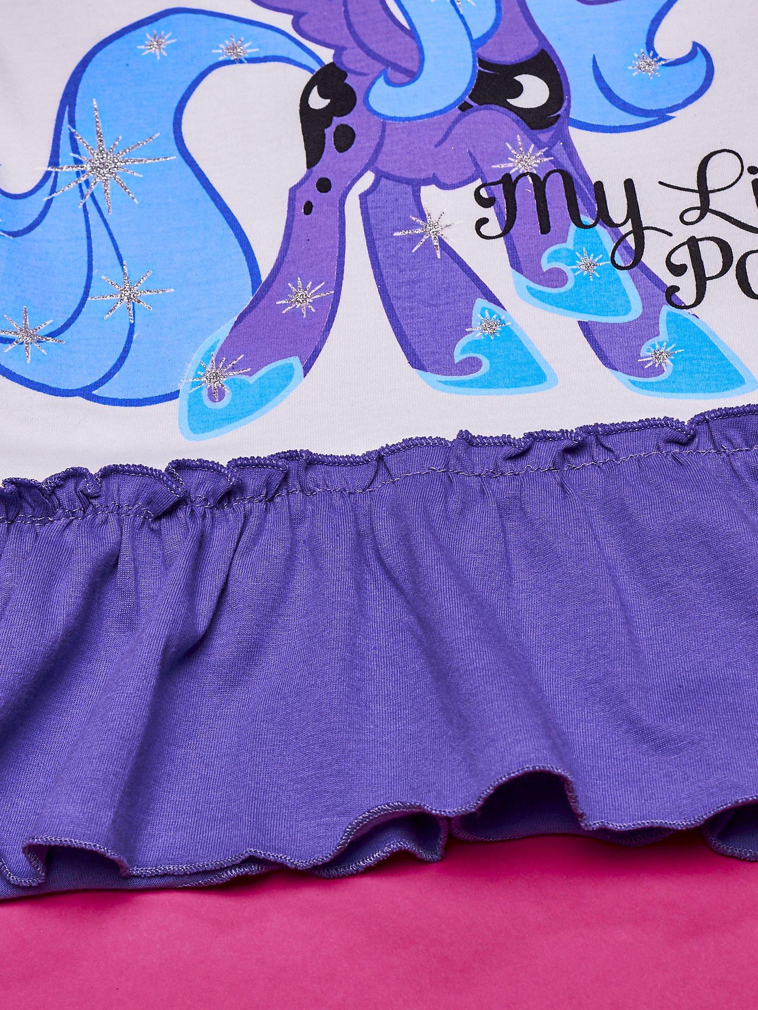 Fioletowa tunika dla dziewczynki MY LITTLE PONY                                  zdj.                                  5