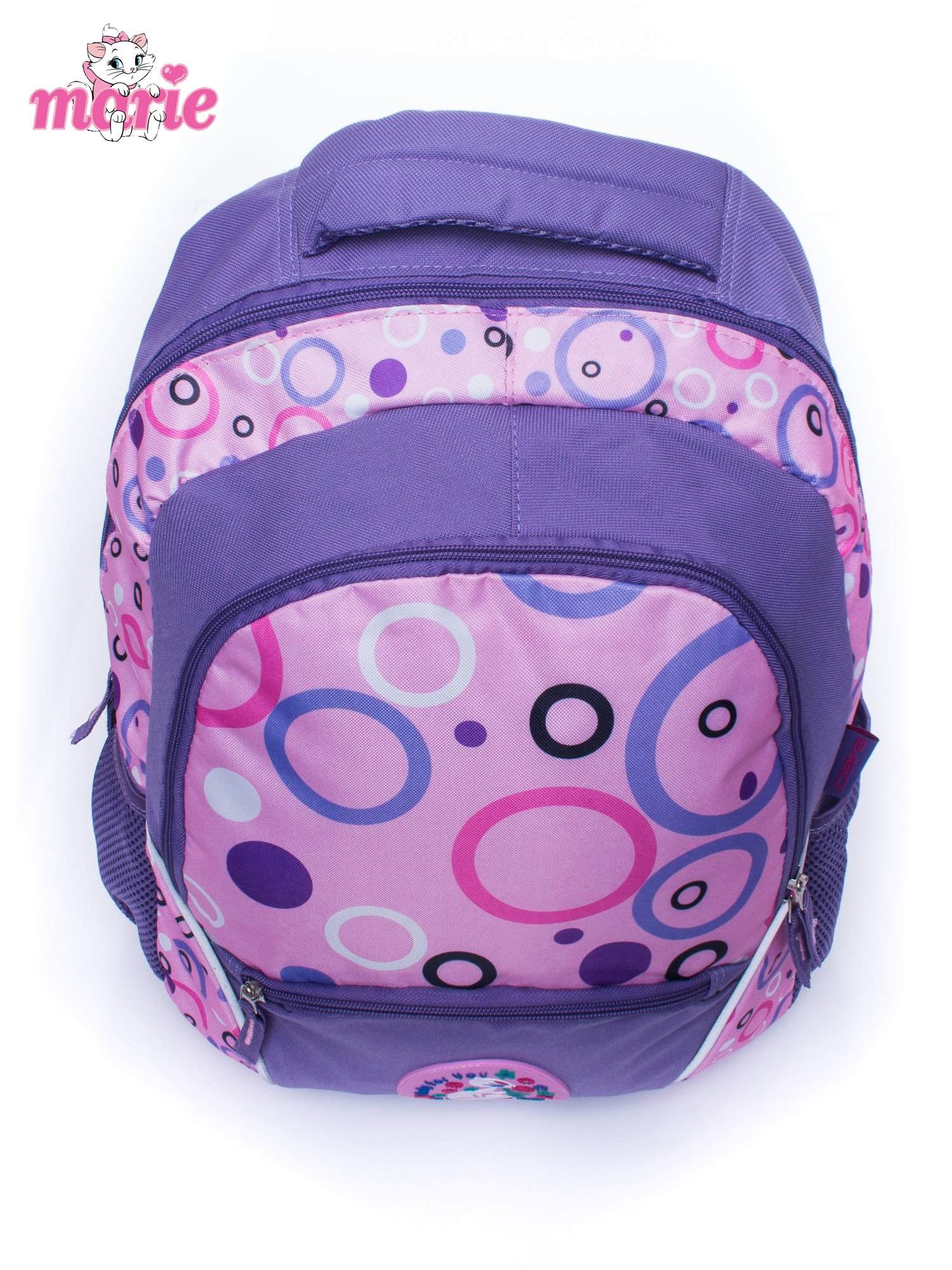 Fioletowy plecak szkolny DISNEY kotka Marie                                  zdj.                                  5