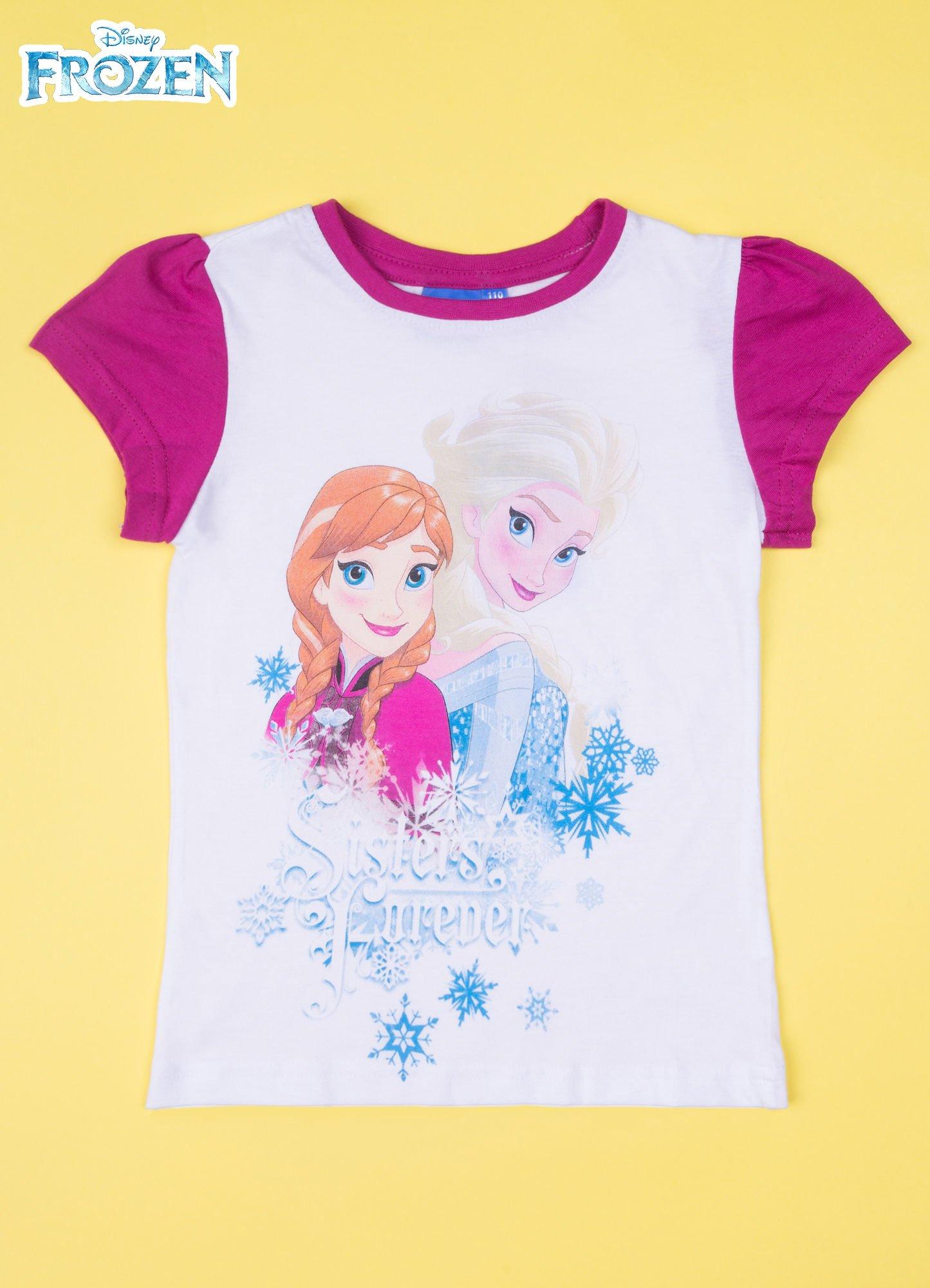 Fuksjowa piżama dla dziewczynki KRAINA LODU                                  zdj.                                  2