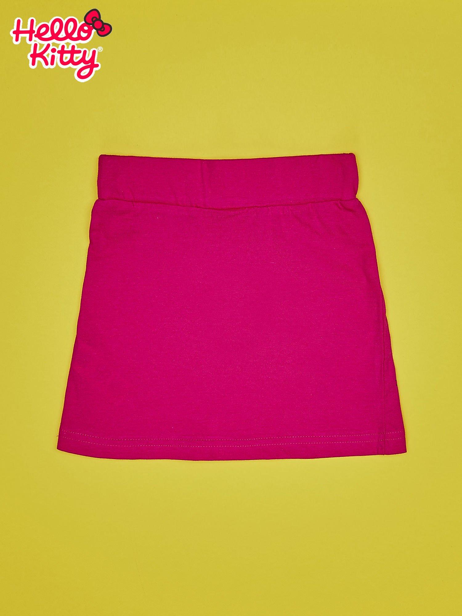 Fuksjowa spódnica dla dziewczynki HELLO KITTY                                  zdj.                                  2