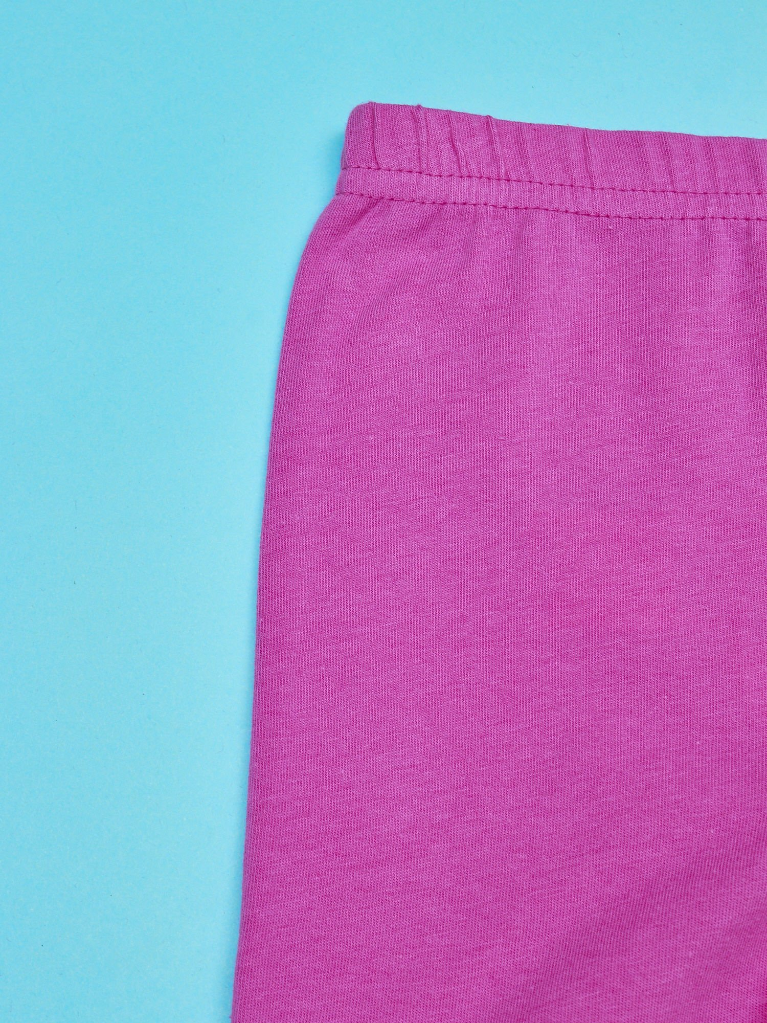 Fuksjowe legginsy dla dziewczynki nadruk MY LITTLE PONY                                  zdj.                                  3