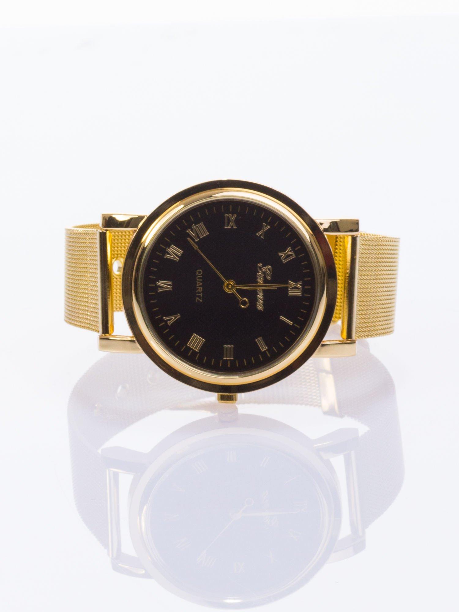 GENEVA Klasyczny zegarek Geneva metalowej bransolecie                                  zdj.                                  1