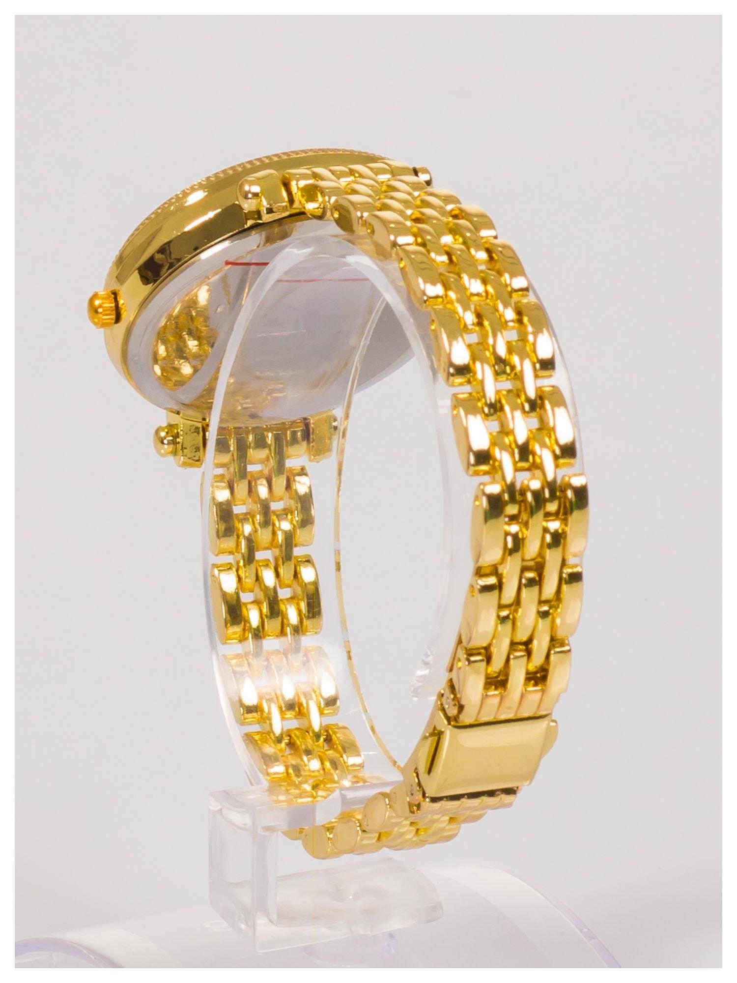 GENEVA Złoty zegarek damski                                  zdj.                                  3