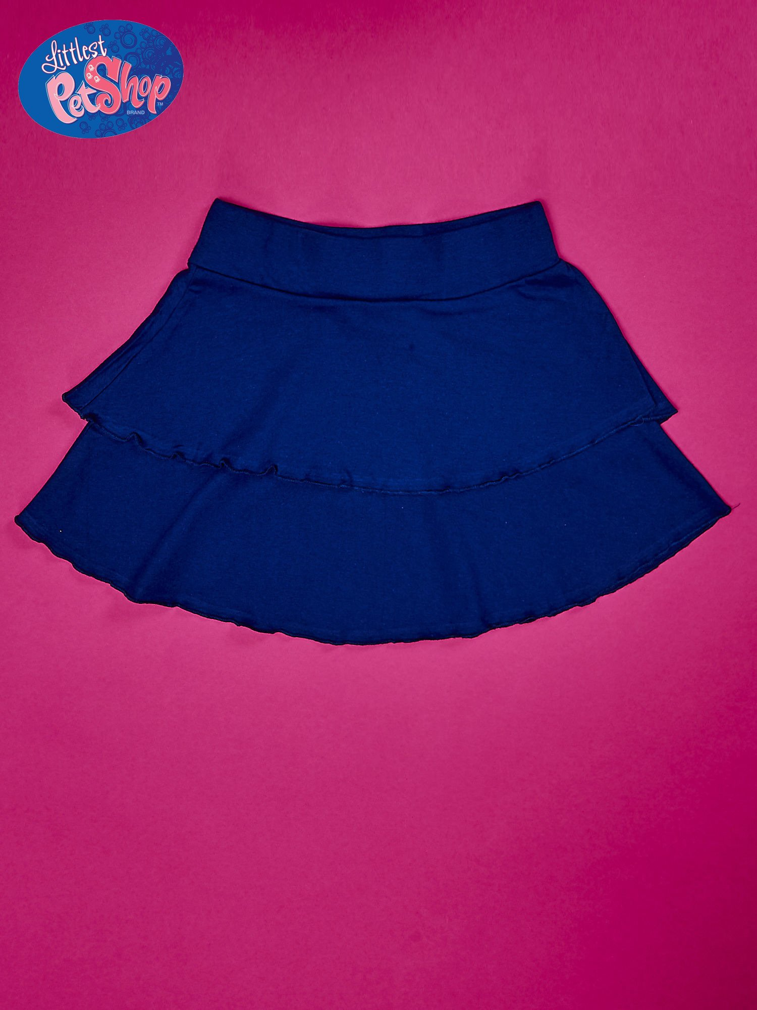 Granatowa spódnica dla dziewczynki LITTLEST PET SHOP                                  zdj.                                  2