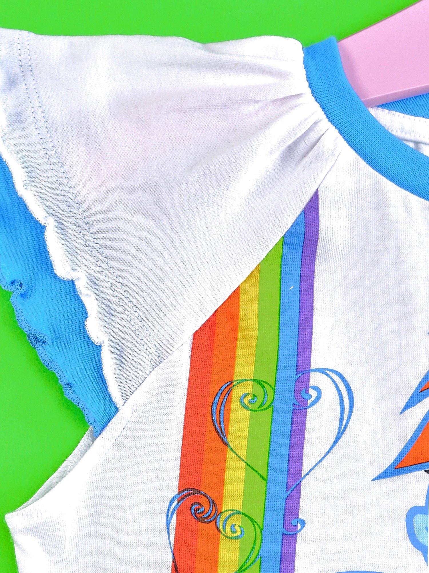 Granatowy t-shirt dla dziewczynki MY LITTLE PONY                                  zdj.                                  3