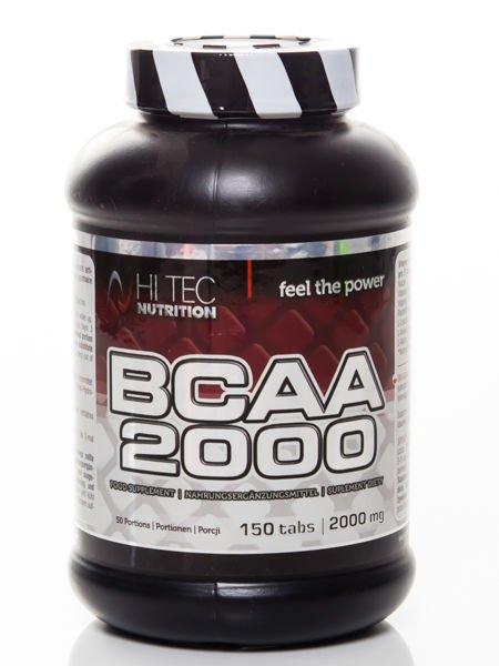 buty do biegania uznane marki kupować nowe HiTec - Aminokwasy BCAA 2000 - 150 tabs