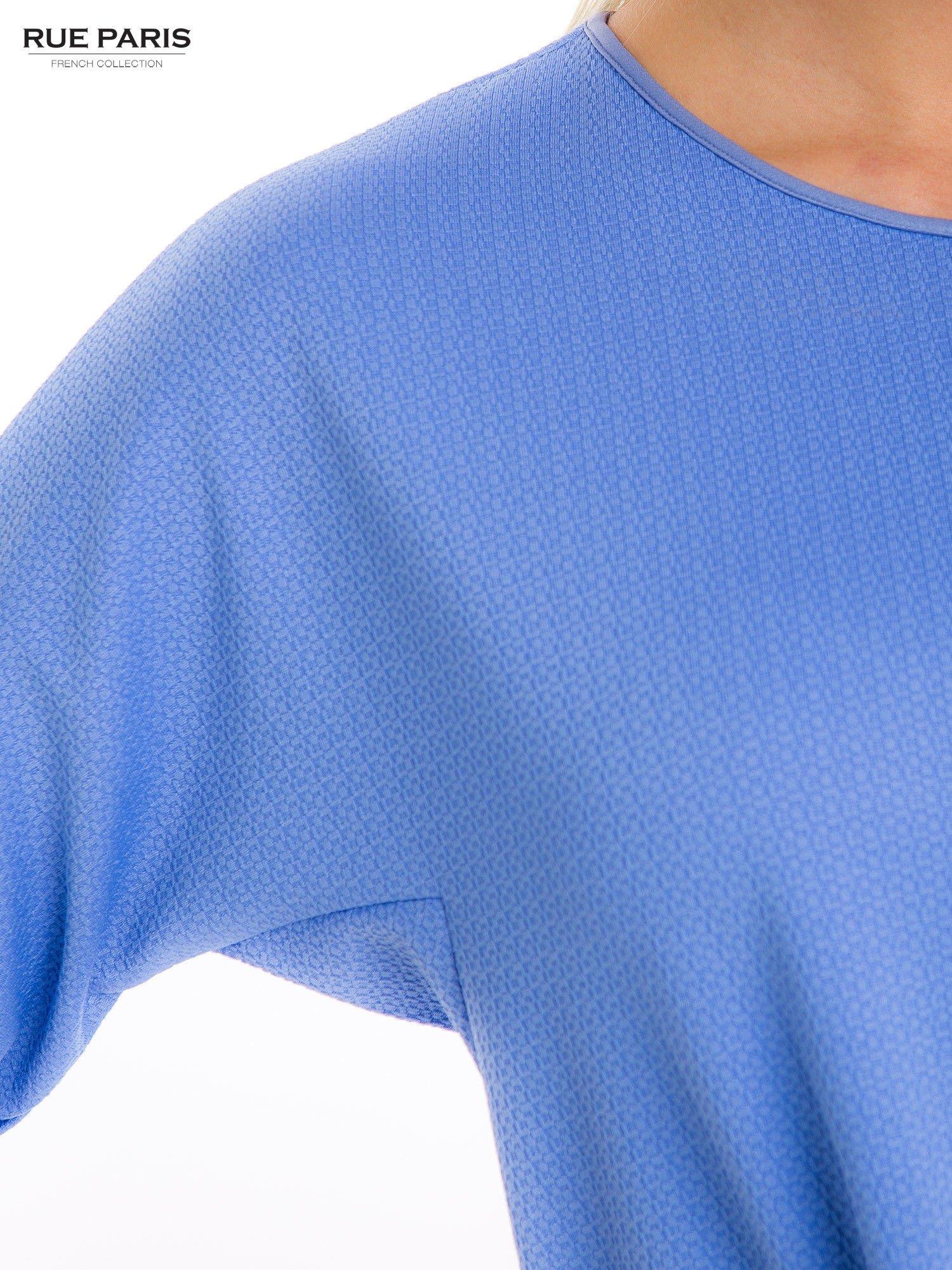 Jasnoniebieska prosta sukienka                                  zdj.                                  8