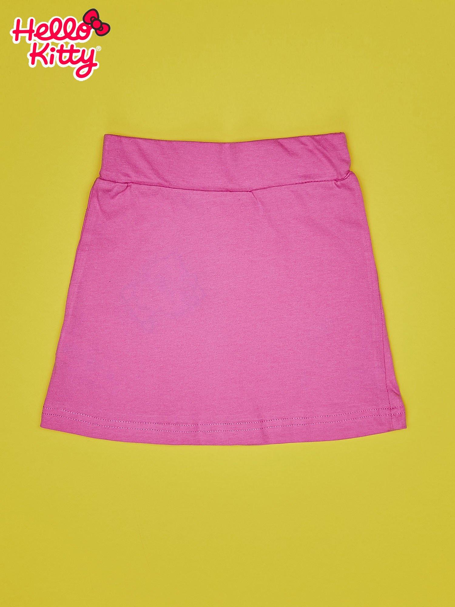 Jasnoróżowa spódnica dla dziewczynki HELLO KITTY                                  zdj.                                  2
