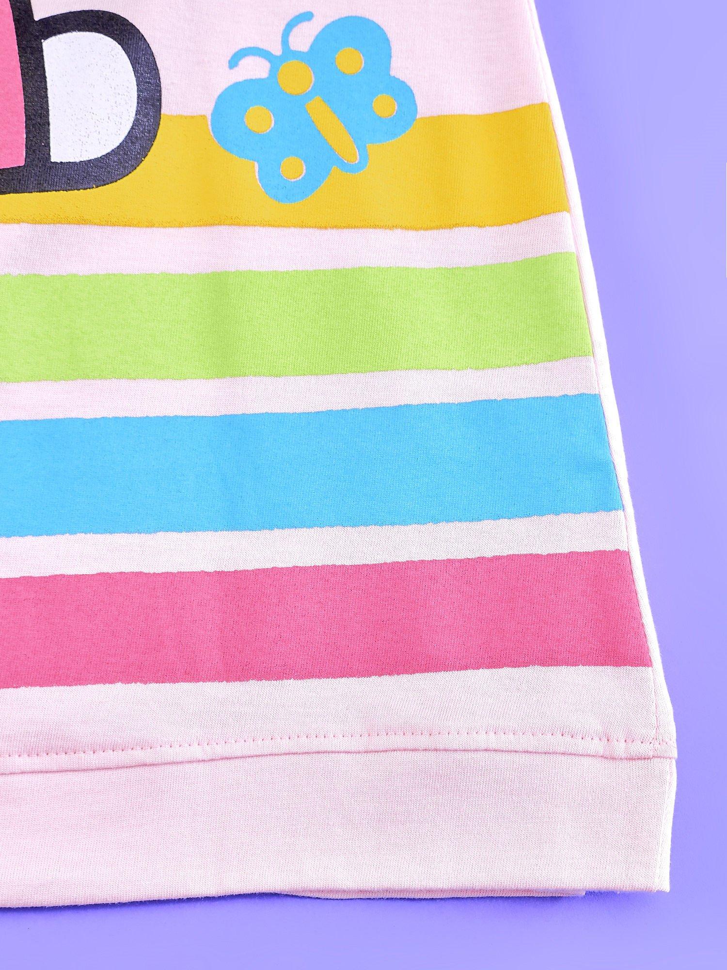 Jasnoróżowa sukienka dla dziewczynki bez rękawów HELLO KITTY                                   zdj.                                  5