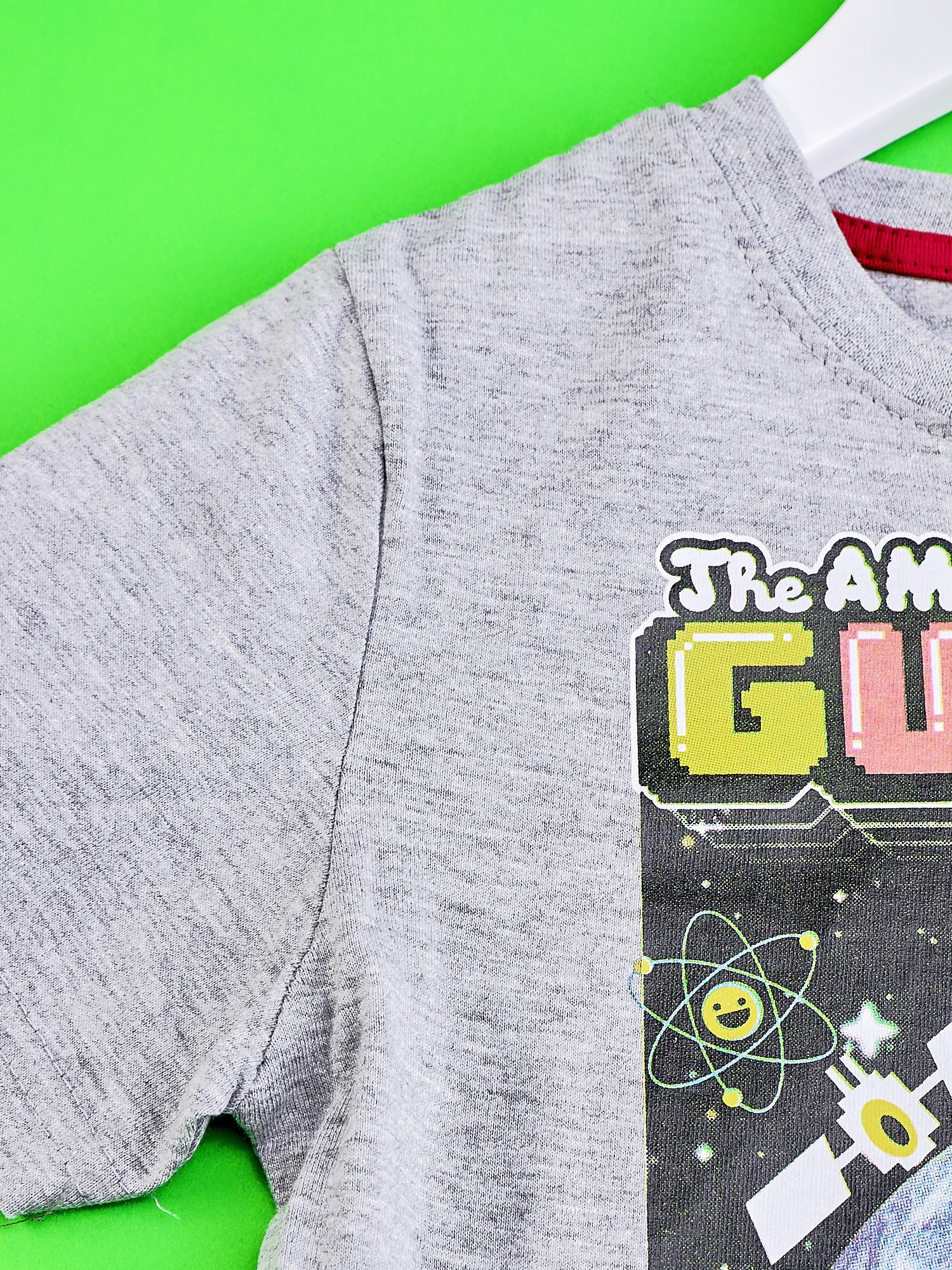 Jasnoszary t-shirt chłopięcy GUMBALL                                  zdj.                                  3