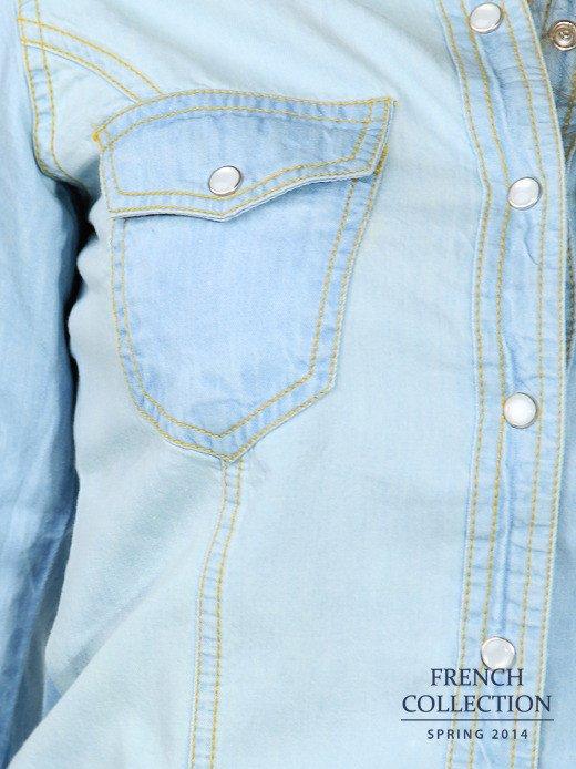 Koszula jeansowa                                  zdj.                                  7