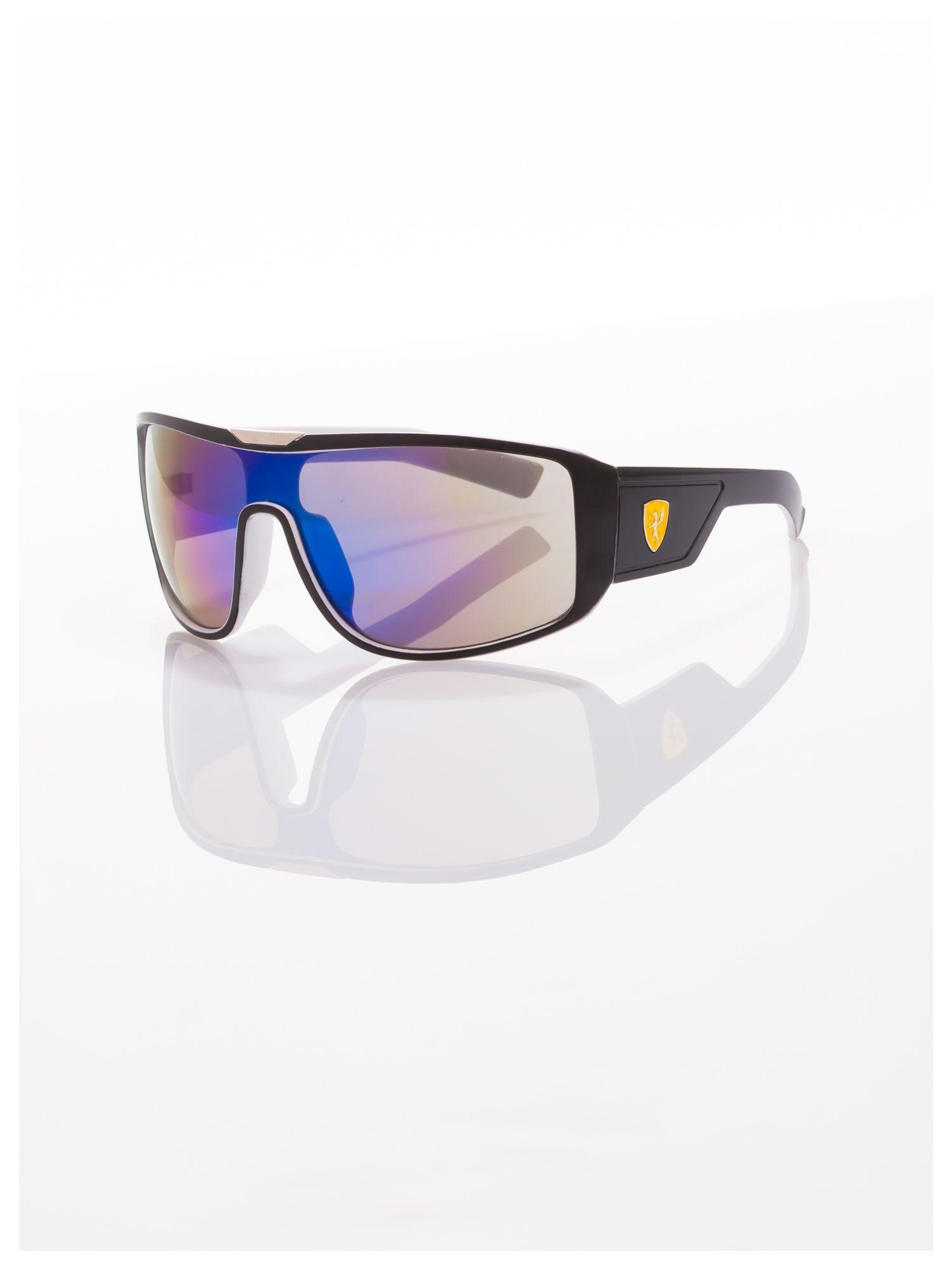 Modne męskie okulary przeciwsłoneczne w stylu Beckhamki                                   zdj.                                  2