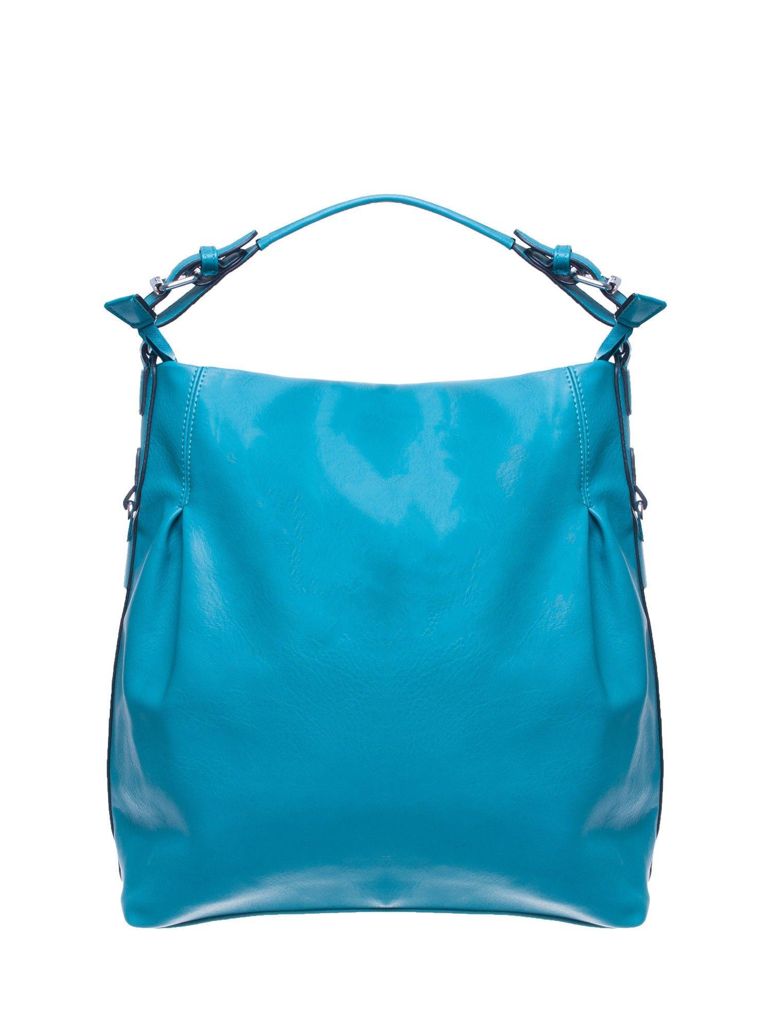 Morska torebka hobo na ramię                                  zdj.                                  1