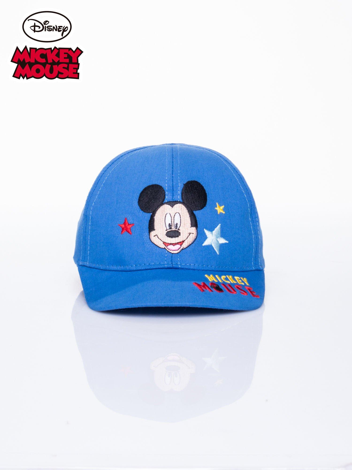 Niebieska chłopięca czapka z daszkiem MYSZKA MIKI                                  zdj.                                  1