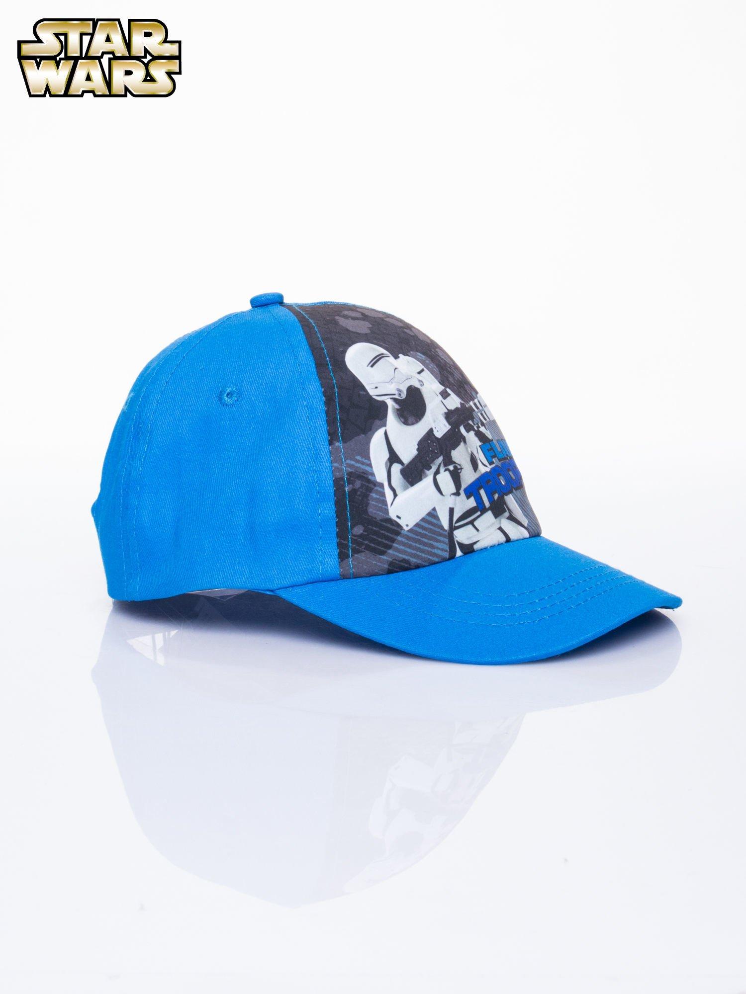 Niebieska chłopięca czapka z daszkiem STAR WARS                                  zdj.                                  2
