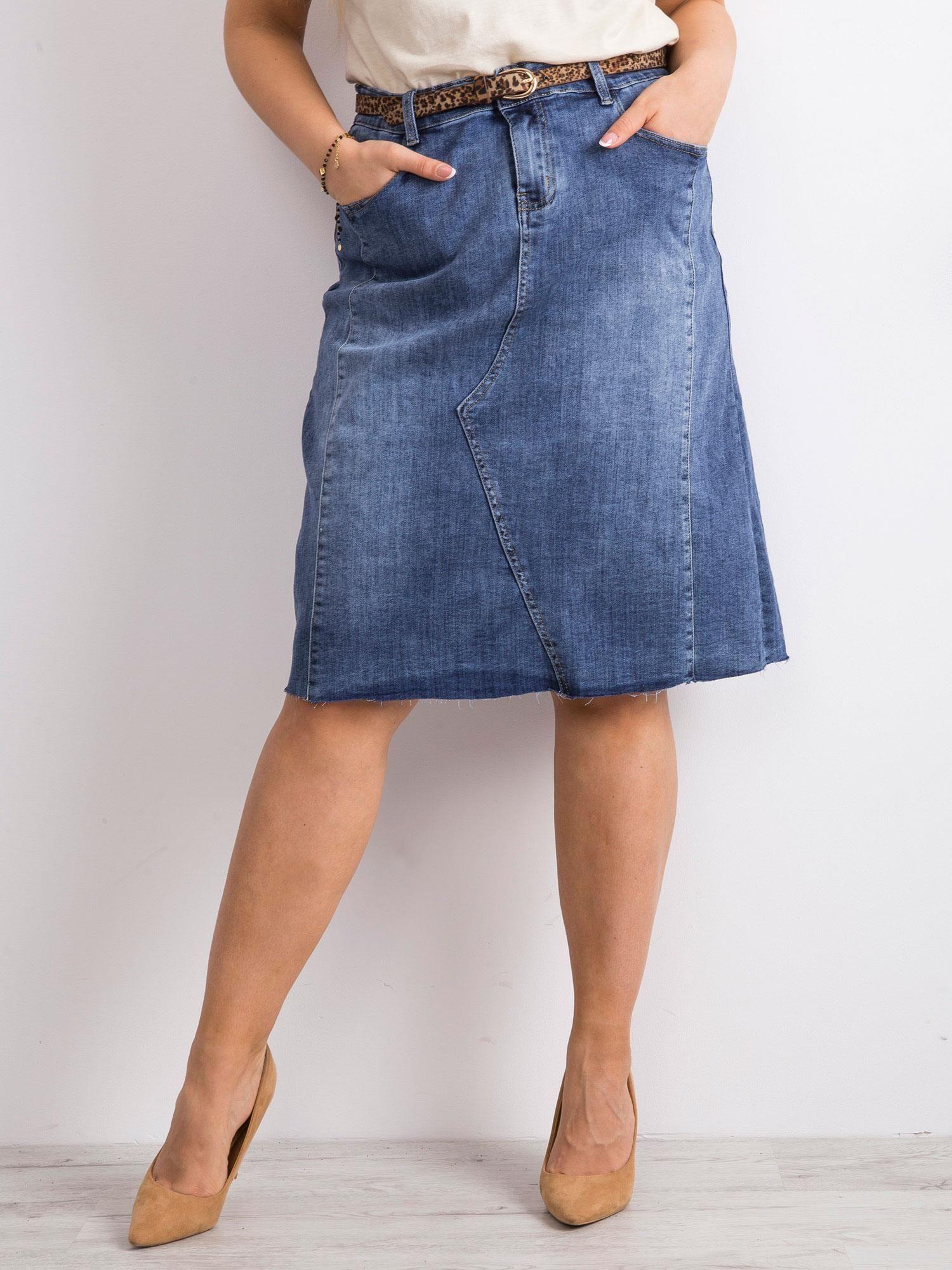GDM _ jeansowa spódnica trapez rozmiar 38
