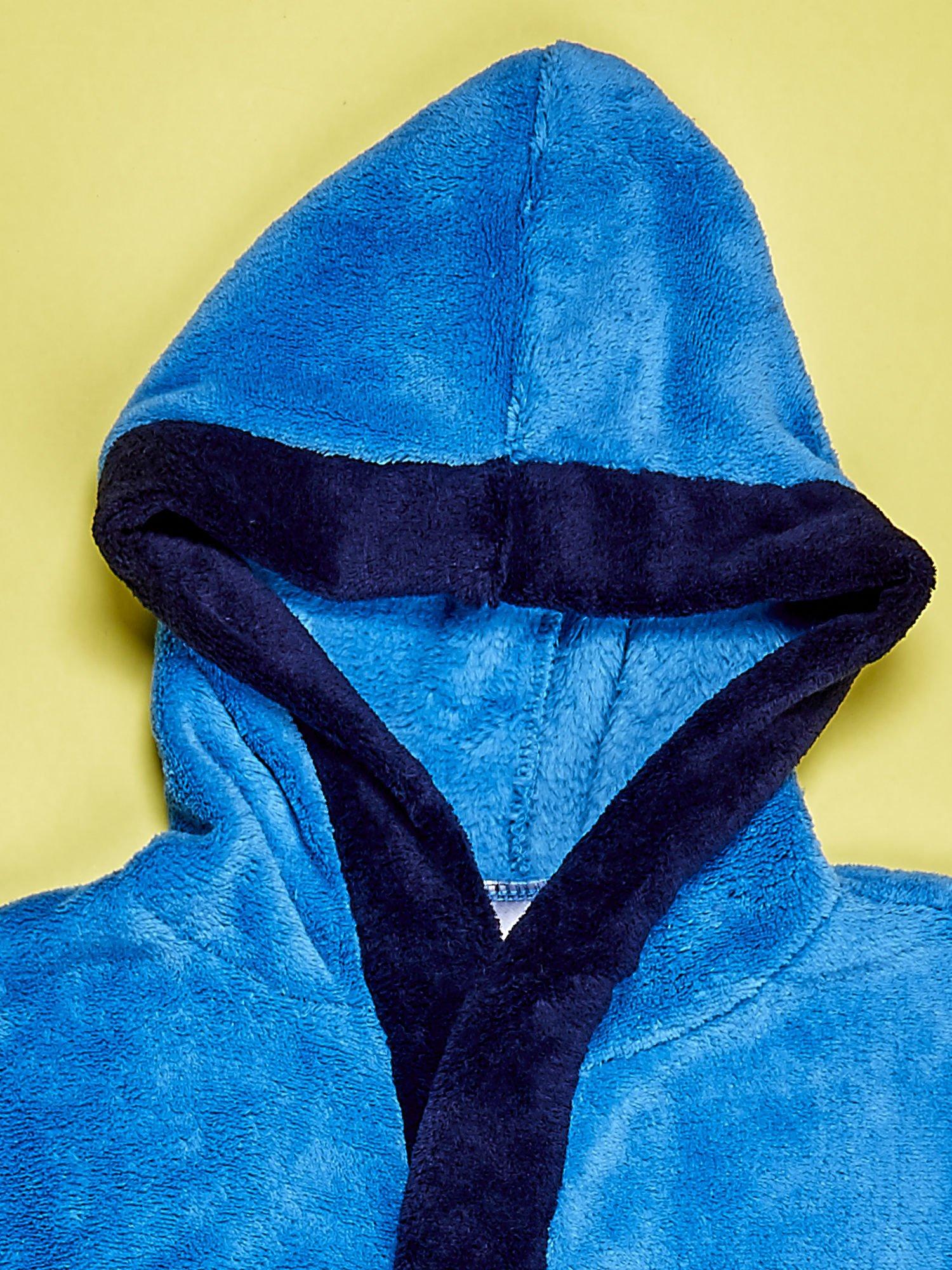 Niebieski chłopięcy szlafrok SPIDERMAN                                  zdj.                                  4