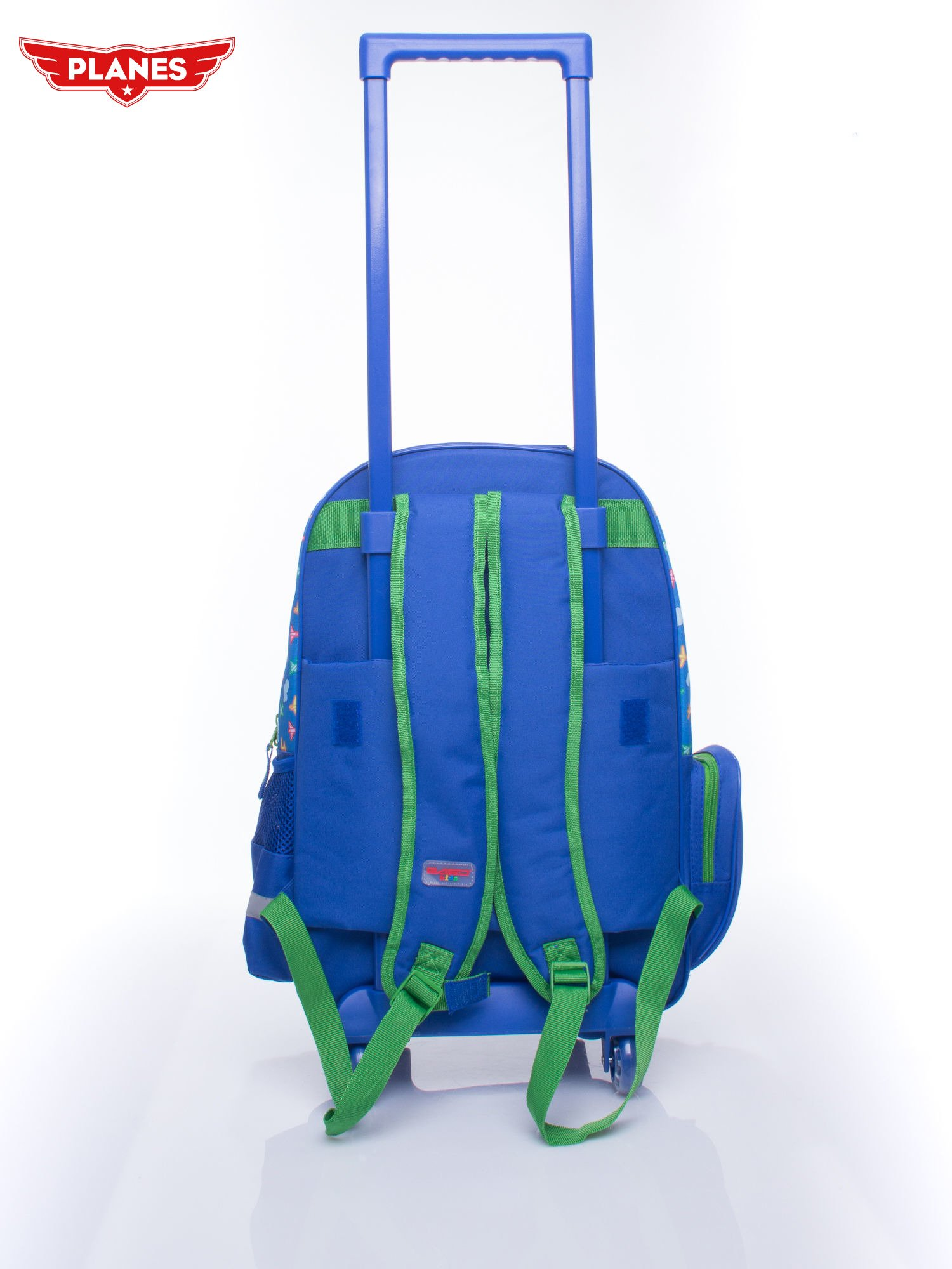 Niebieski plecak szkolny na kółkach walizka DISNEY Samoloty                                  zdj.                                  6