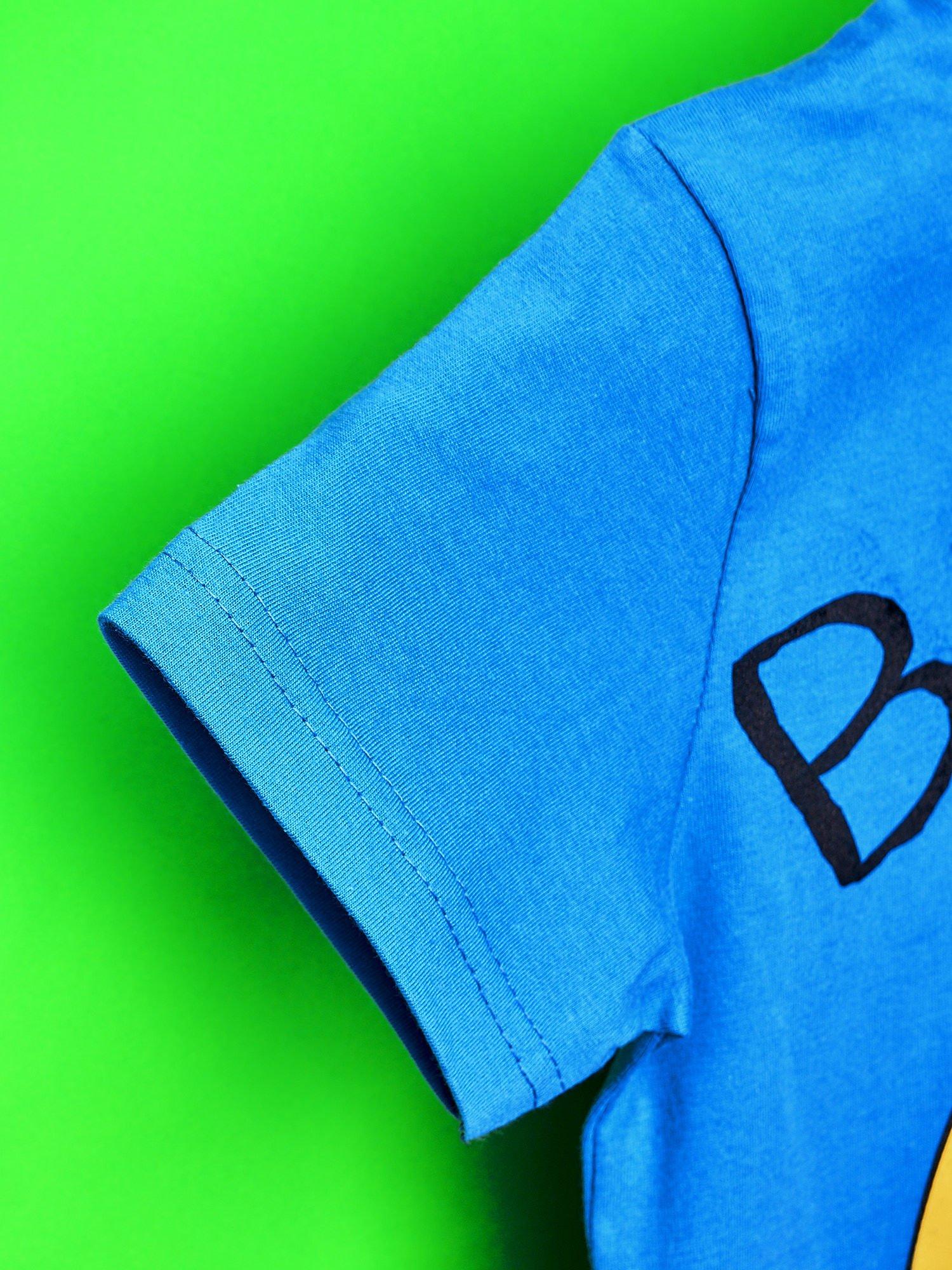 Niebieski t-shirt chłopięcy ADVENTURE TIME                                   zdj.                                  6