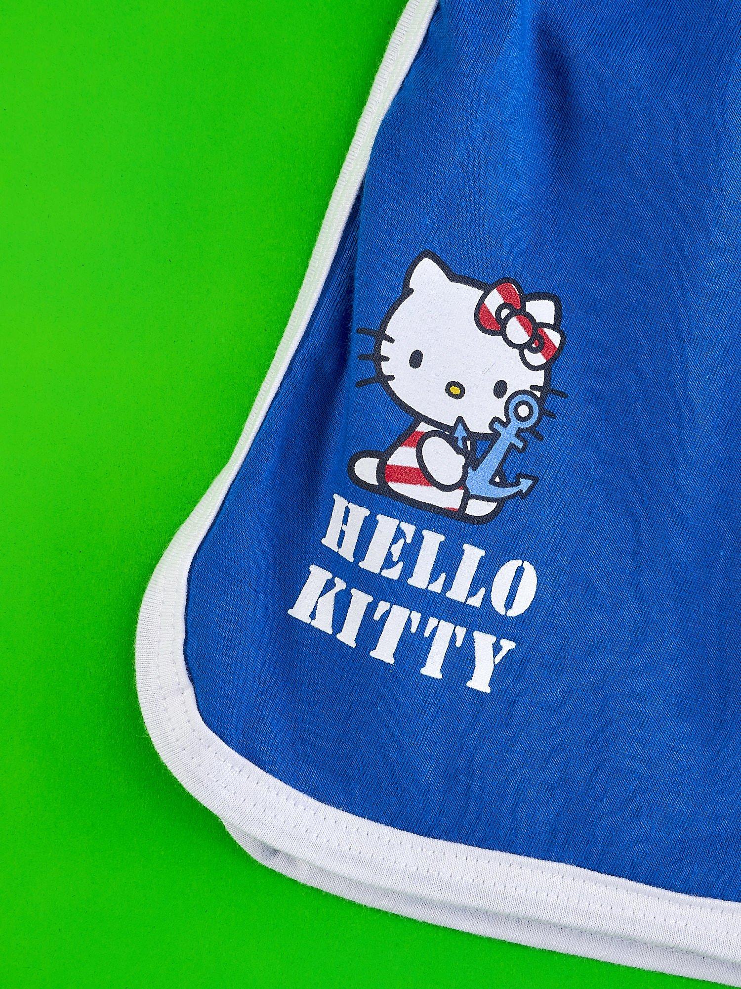 Niebieskie szorty dla dziewczynki HELLO KITTY                                  zdj.                                  3