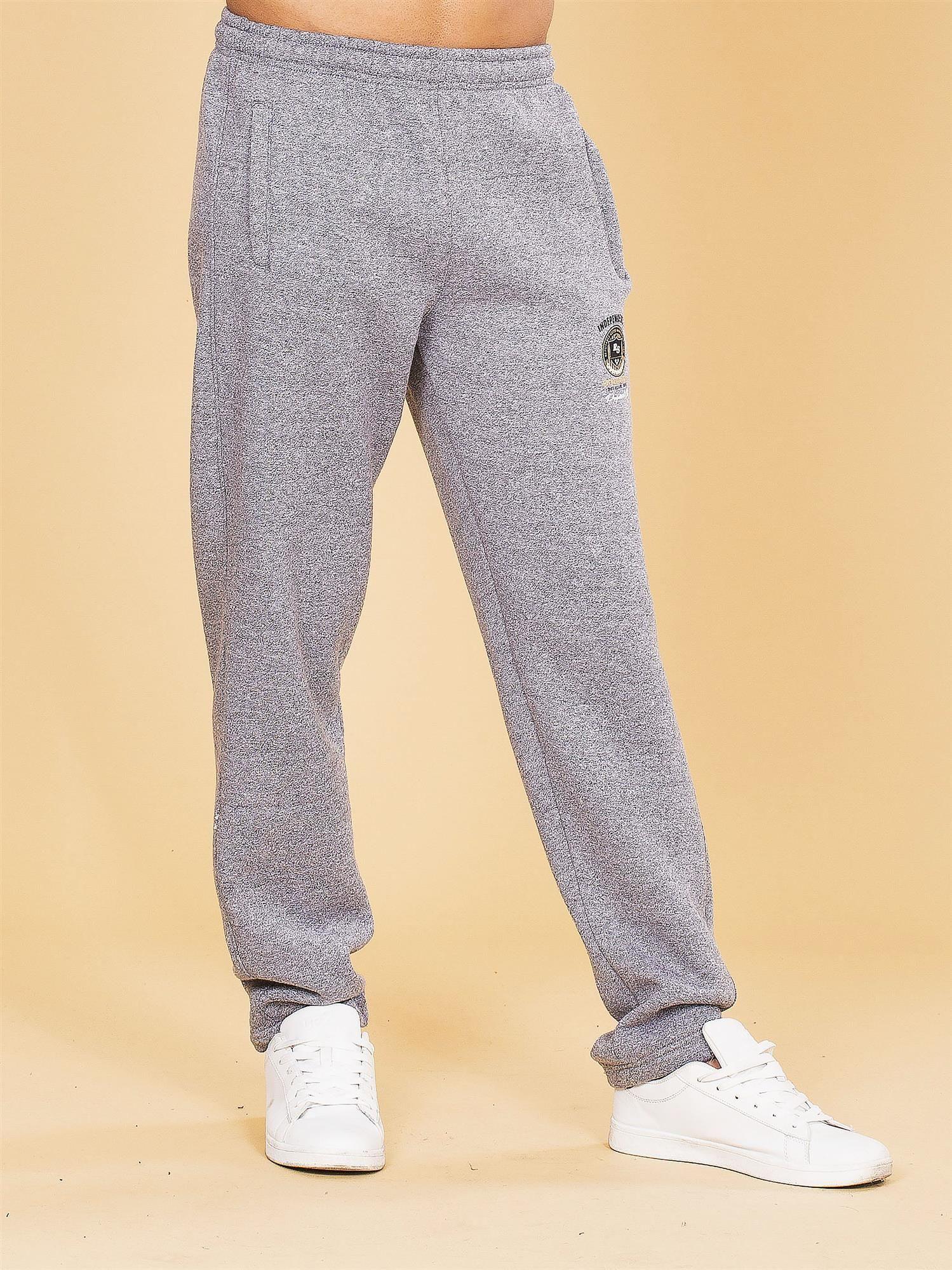 produkty wysokiej jakości sprzedaż usa online Nowe Produkty Ocieplane męskie spodnie dresowe szare