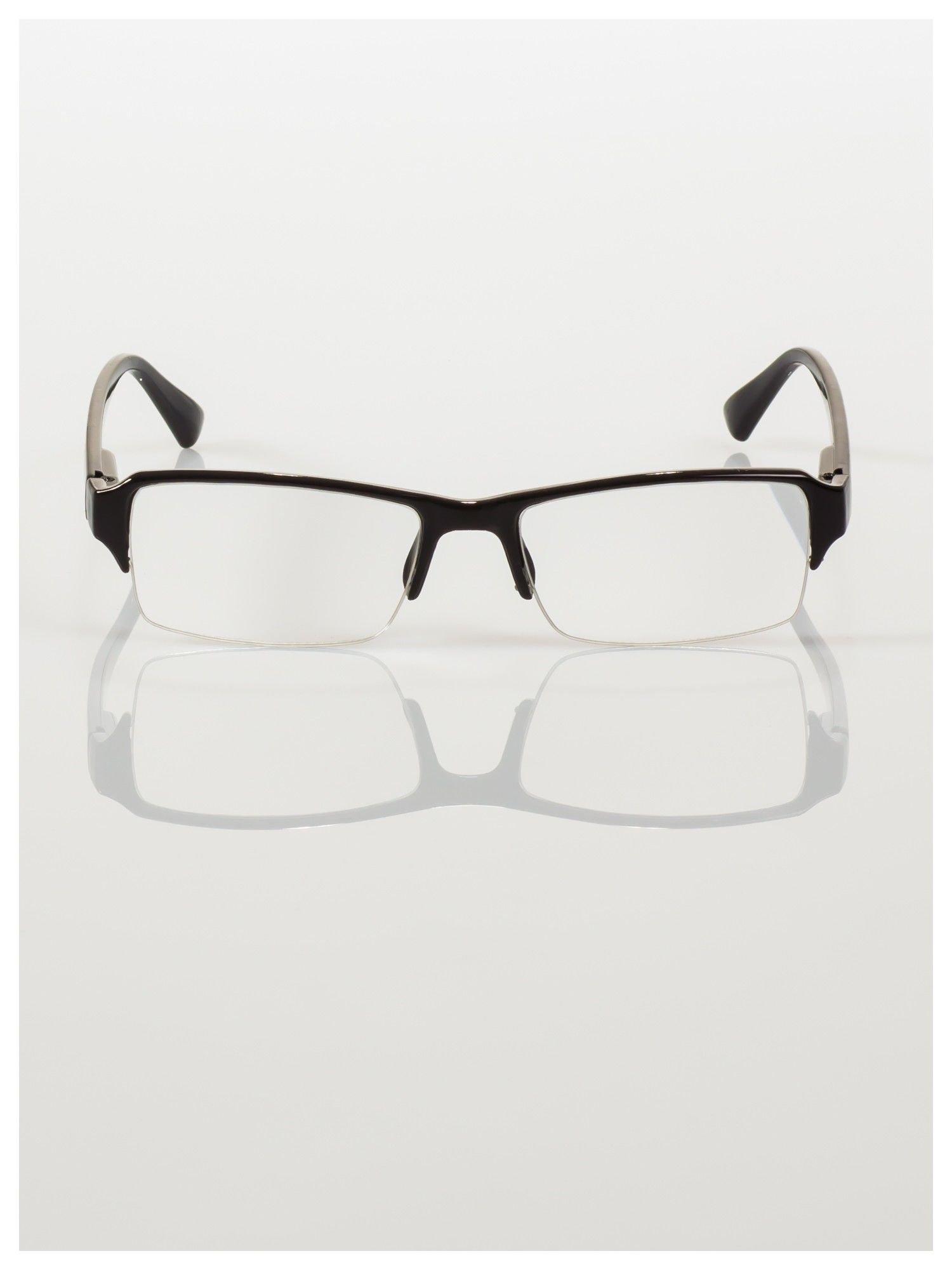 Okulary korekcyjne +3.5 D do czytania z systemem FLEX na zausznikach +GRATIS PLASTIKOWE ETUI I ŚCIERECZKA Z MIKROFIBRY                                  zdj.                                  1