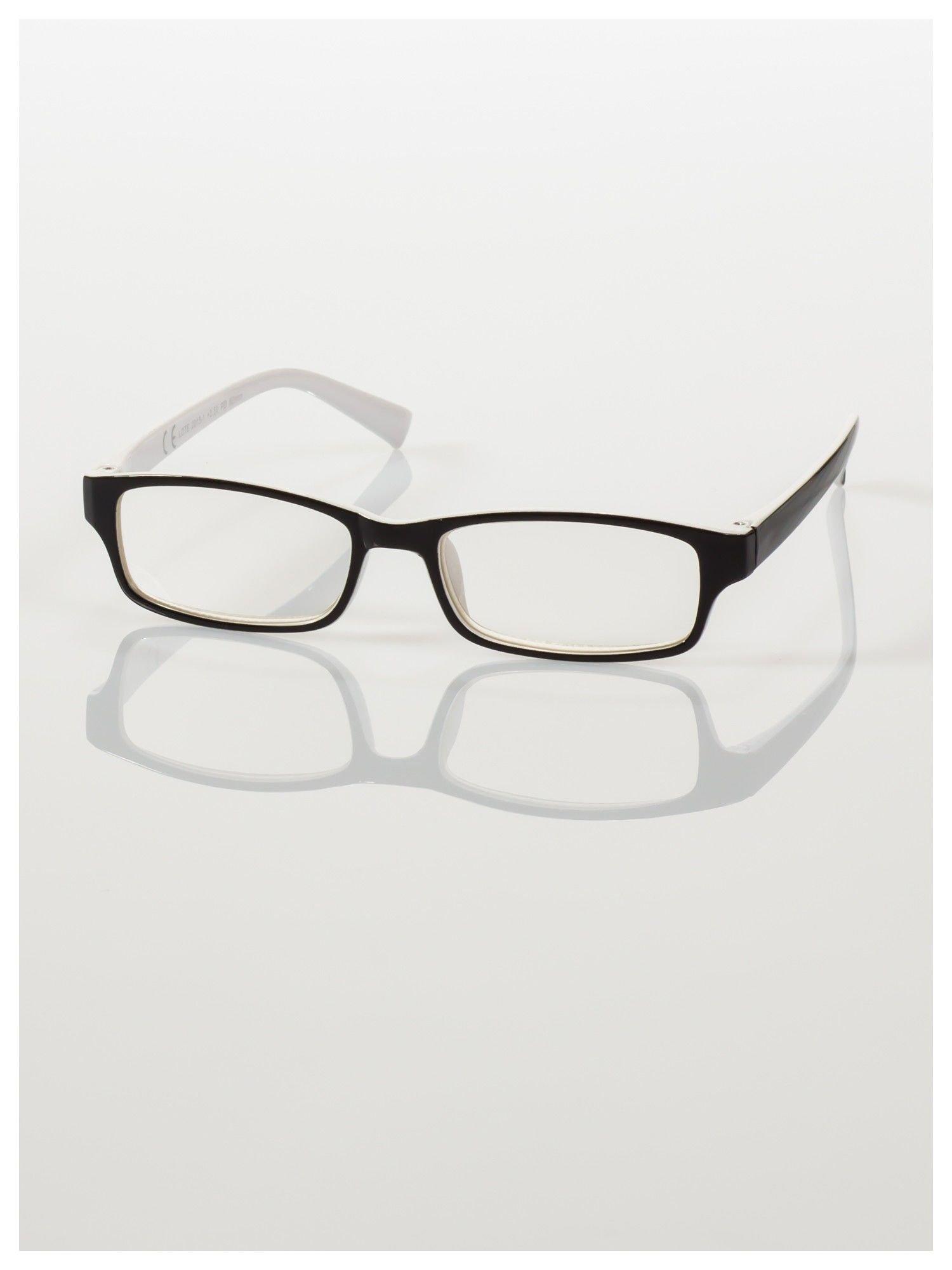 Okulary korekcyjne dwukolorowe do czytania +1.0 D                                    zdj.                                  2