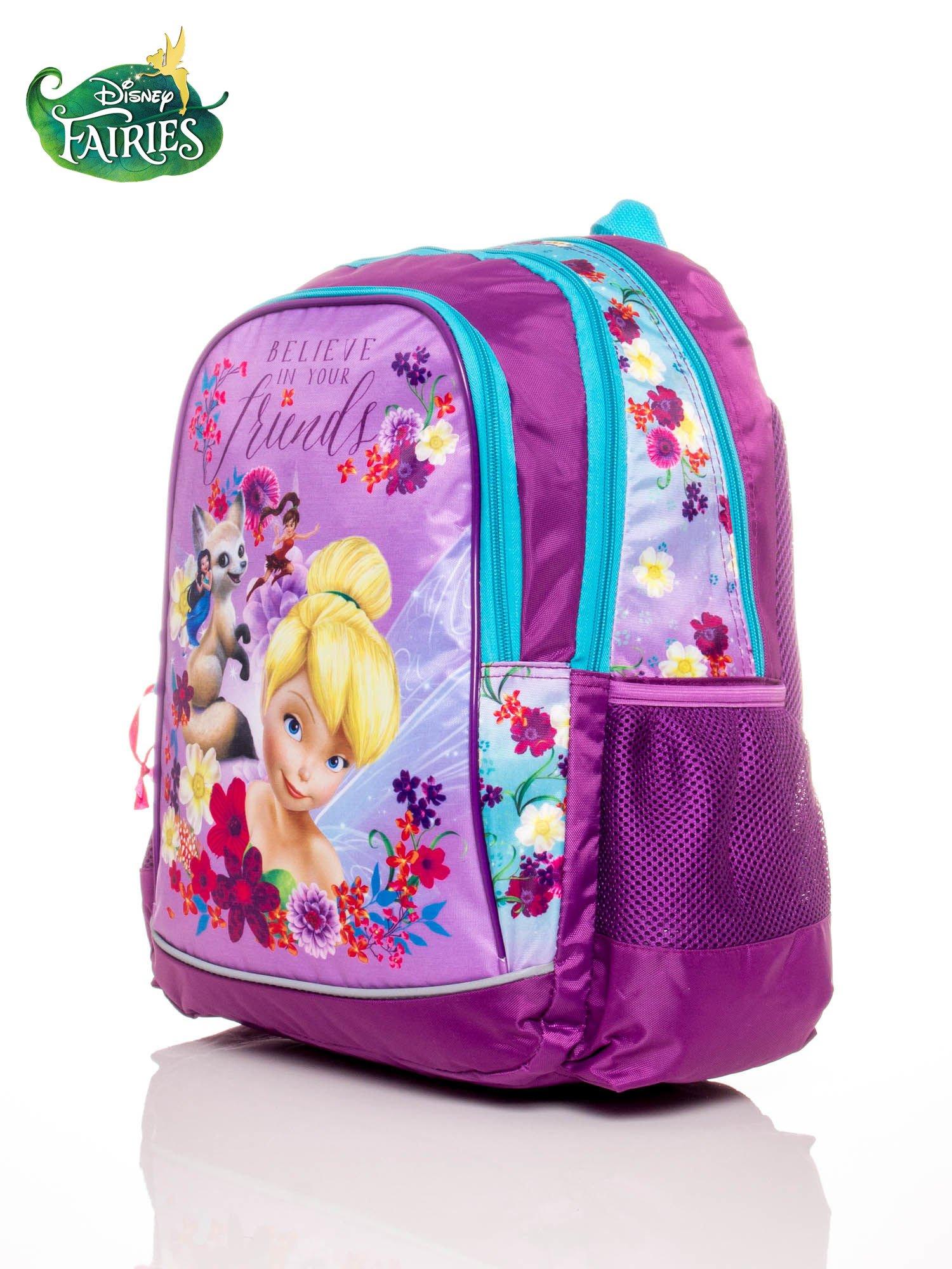Plecak szkolny dla dziewczynki motyw FAIRIES