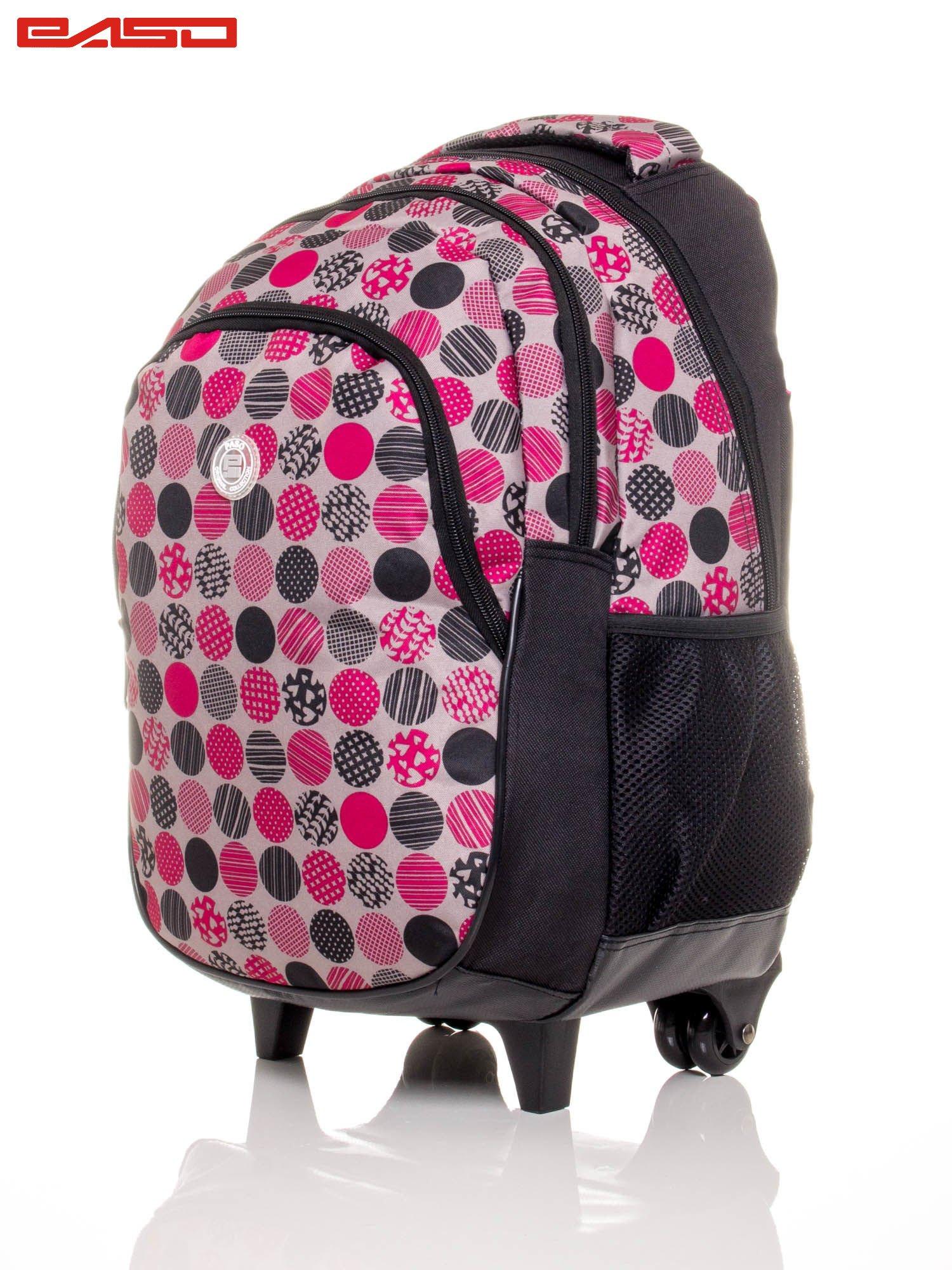 1d1d796baca00 GRATIS!!! Plecak szkolny na kółkach z kolorowym nadrukiem - Dziecko ...