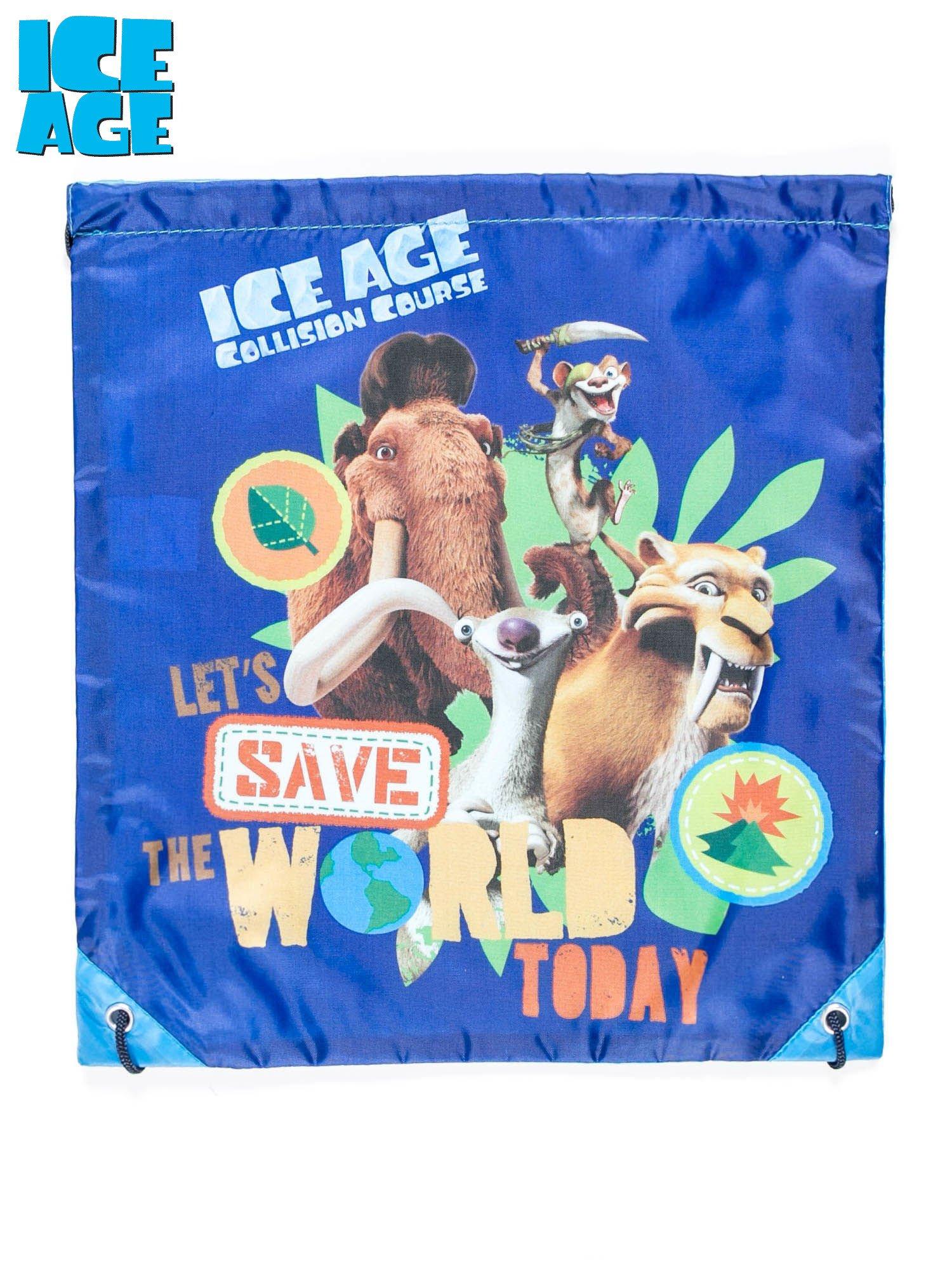 Plecak typu worek z motywem ICE AGE